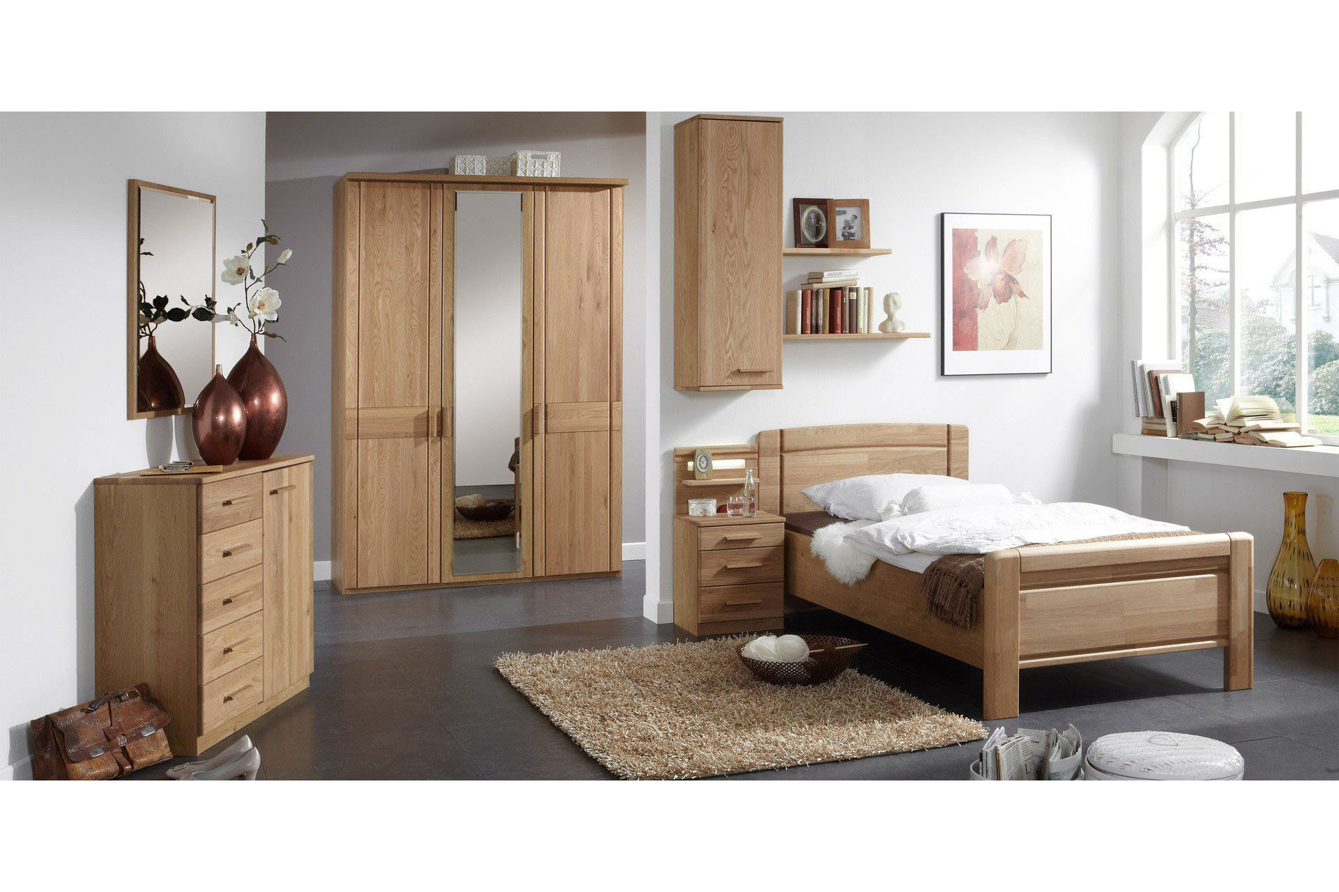 single schlafzimmer komplett lilashouse. Black Bedroom Furniture Sets. Home Design Ideas