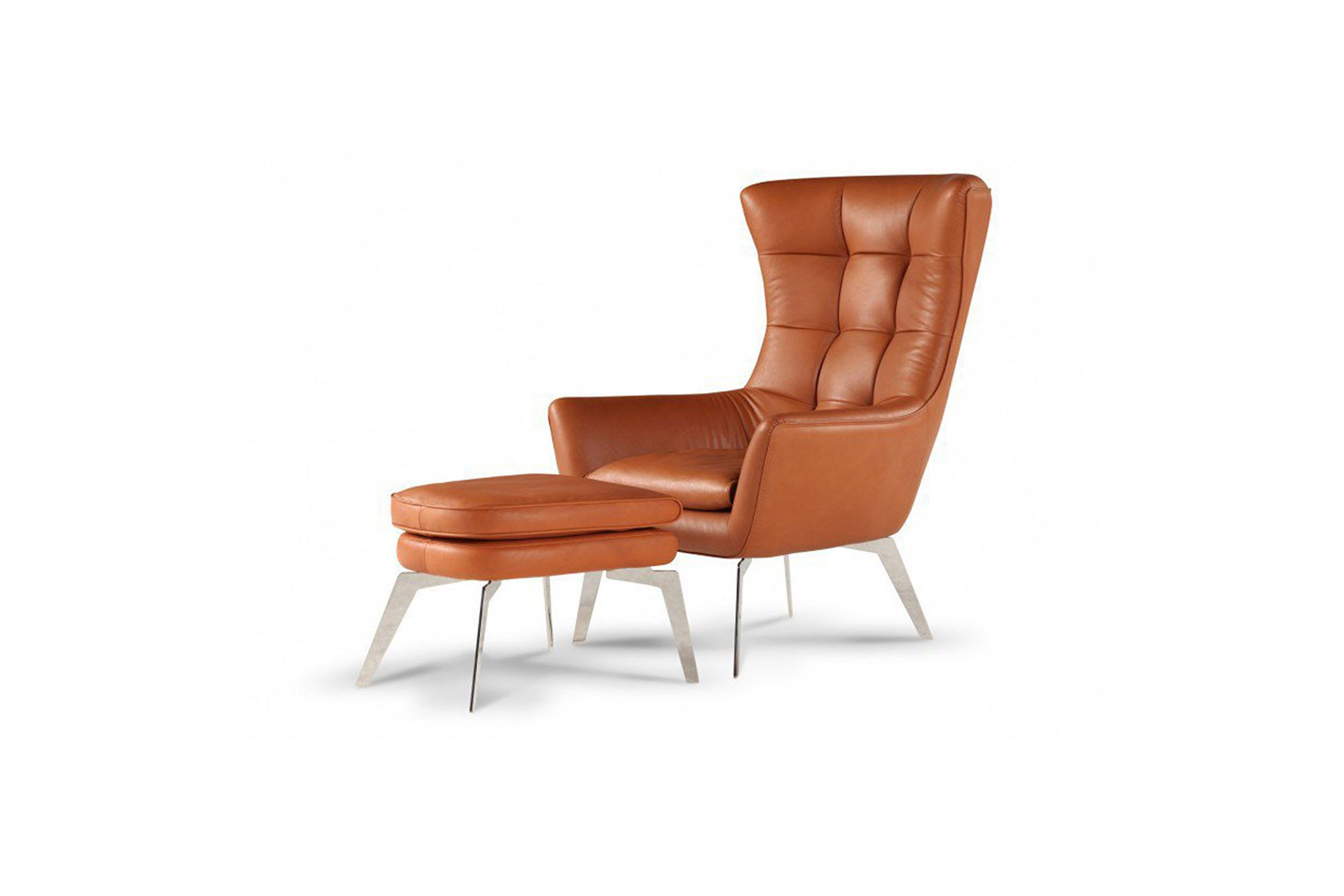 Calia Italia Hochlehnsessel Jacob braun   Möbel Letz - Ihr Online-Shop