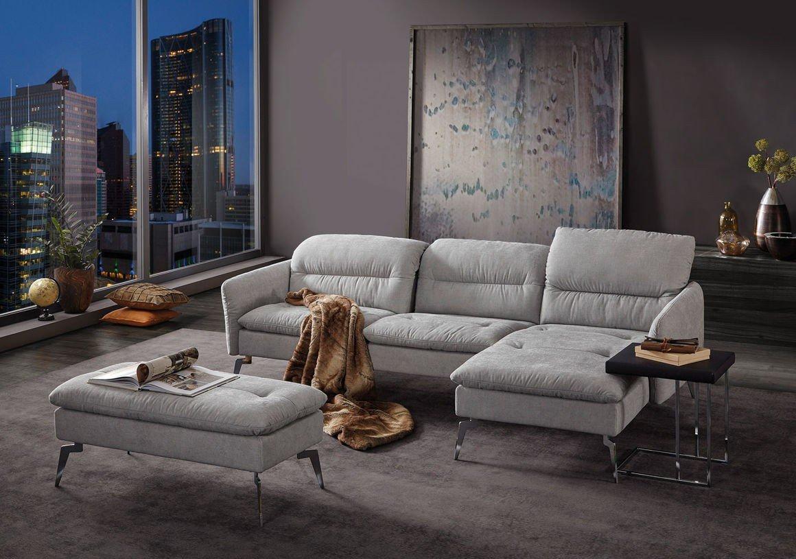k w polsterm bel panda 7277 ecksofa in grau m bel letz ihr online shop. Black Bedroom Furniture Sets. Home Design Ideas