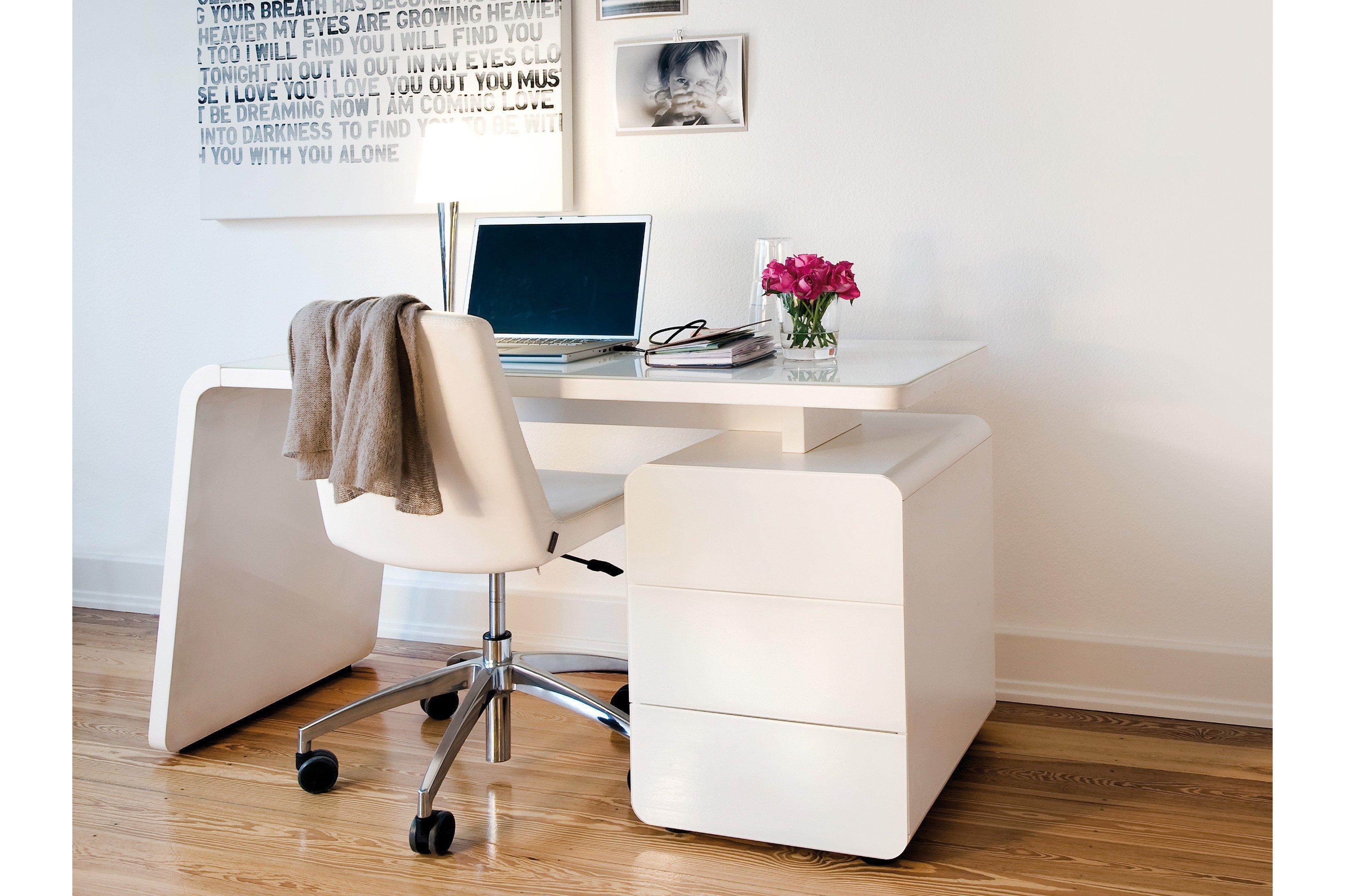 Jahnke Schreibtisch CSL440 weiß | Möbel Letz - Ihr Online-Shop