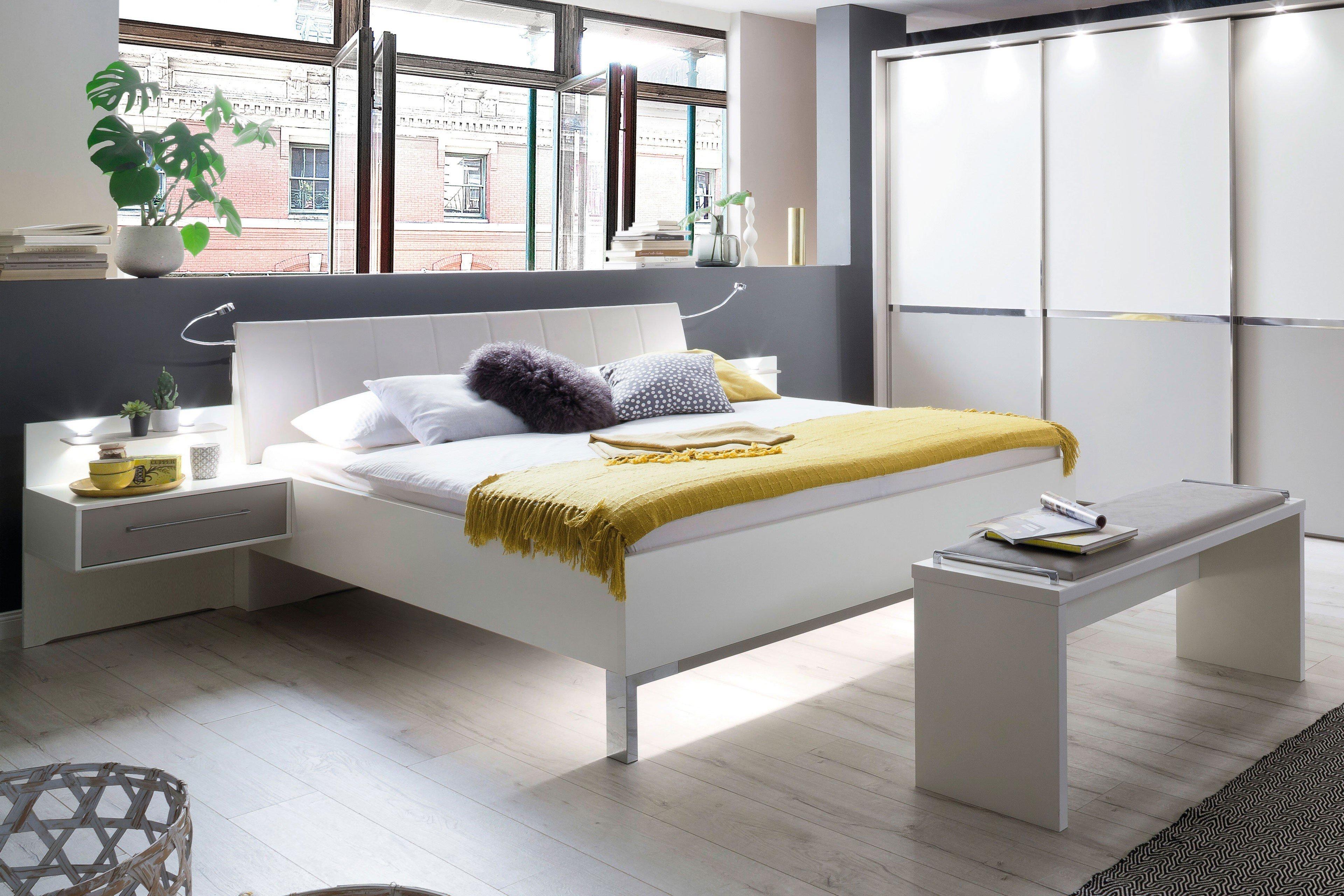 wiemann alaska bett wei 140 x 200 cm m bel letz ihr. Black Bedroom Furniture Sets. Home Design Ideas