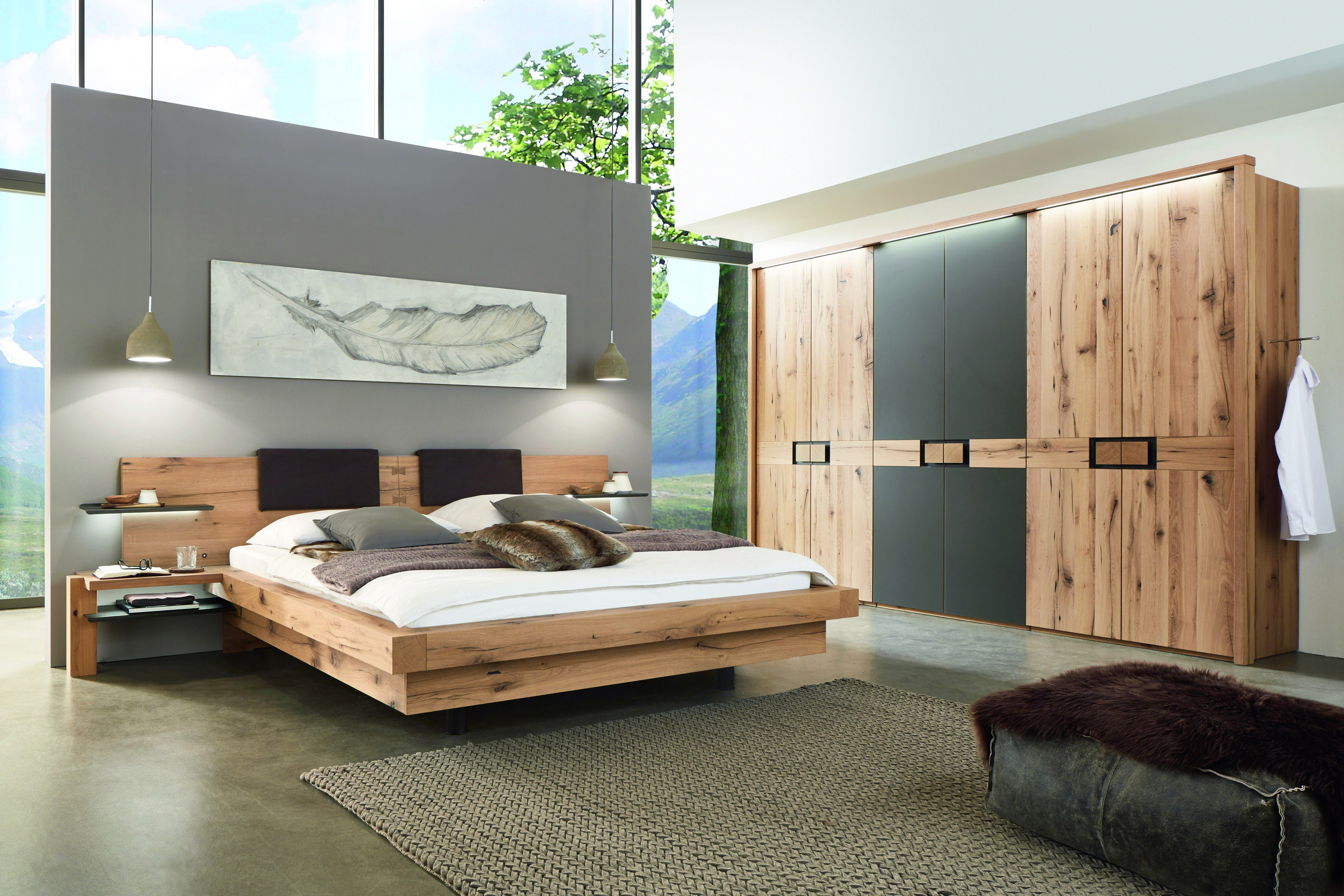 w stmann wsm 2100 schlafzimmer eiche altholz m bel letz ihr online shop. Black Bedroom Furniture Sets. Home Design Ideas