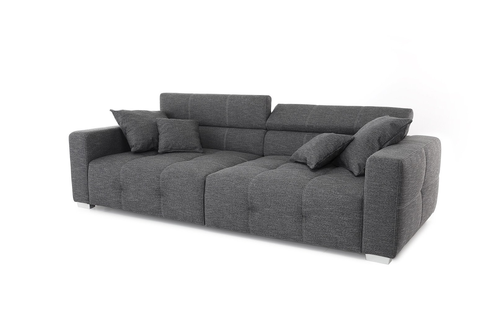 jockenh fer trento big sofa in blau m bel letz ihr online shop. Black Bedroom Furniture Sets. Home Design Ideas