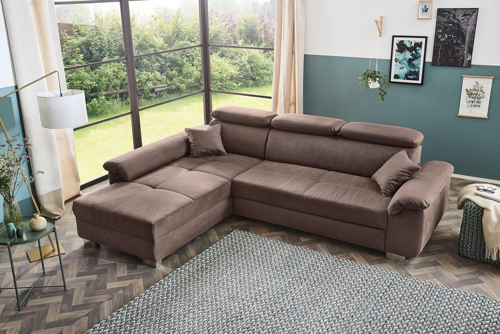 jockenh fer landshut eckgarnitur braun m bel letz ihr online shop. Black Bedroom Furniture Sets. Home Design Ideas