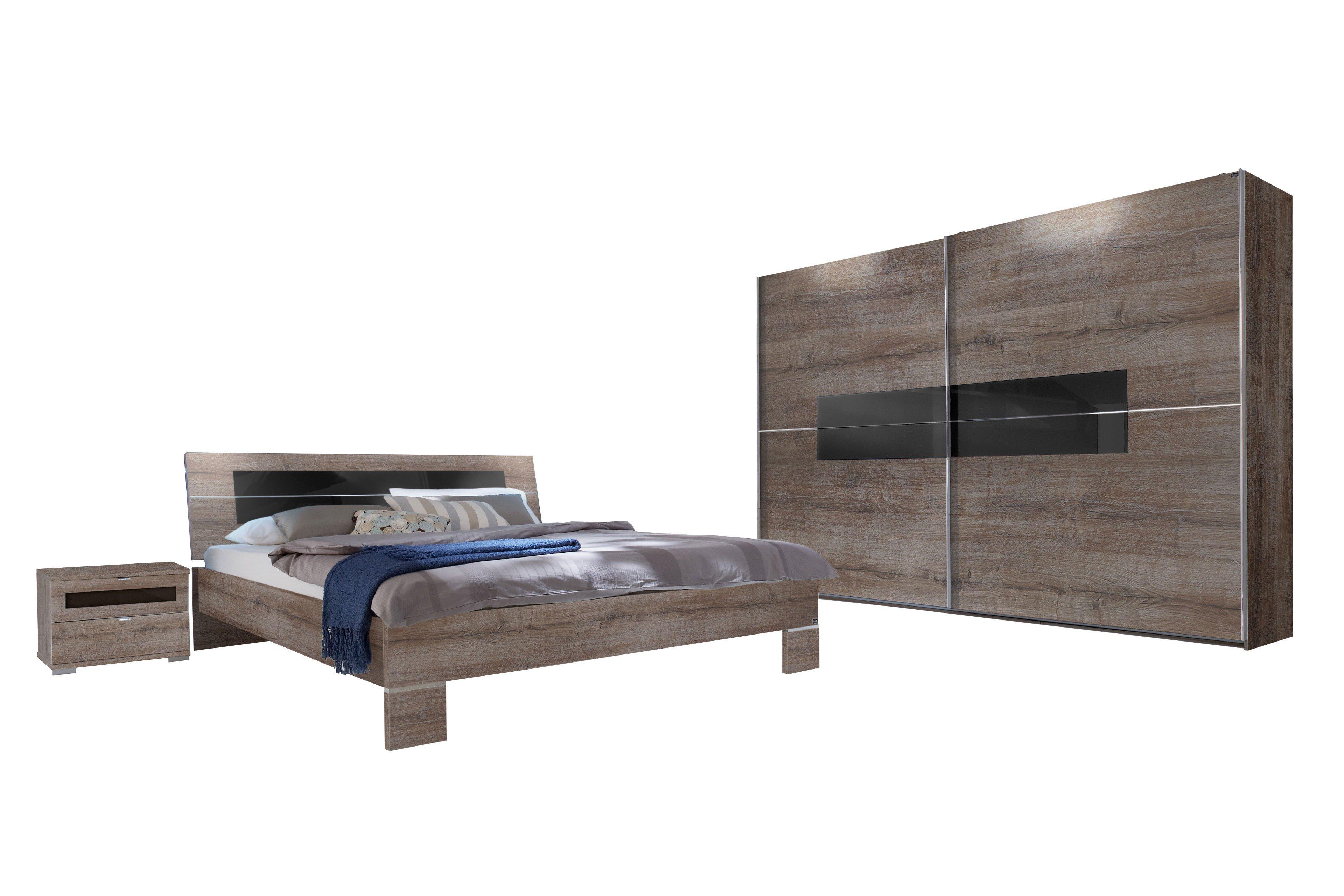 wimex schlafzimmer advantage mit glasauflage schwarz mobel letz schlafzimmer schlammeiche