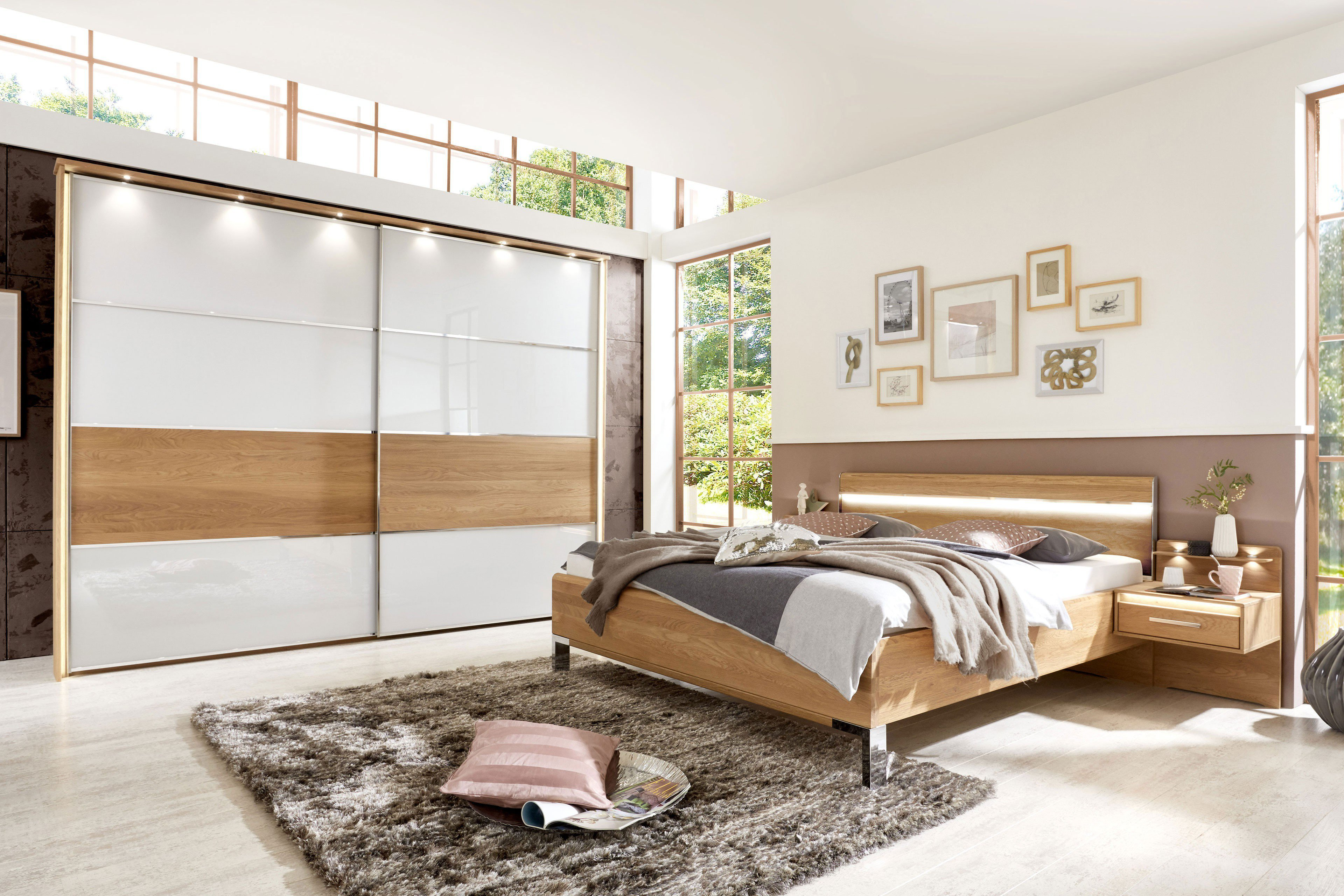 wiemann palermo schlafzimmer eiche teilmassiv m bel letz ihr online shop. Black Bedroom Furniture Sets. Home Design Ideas