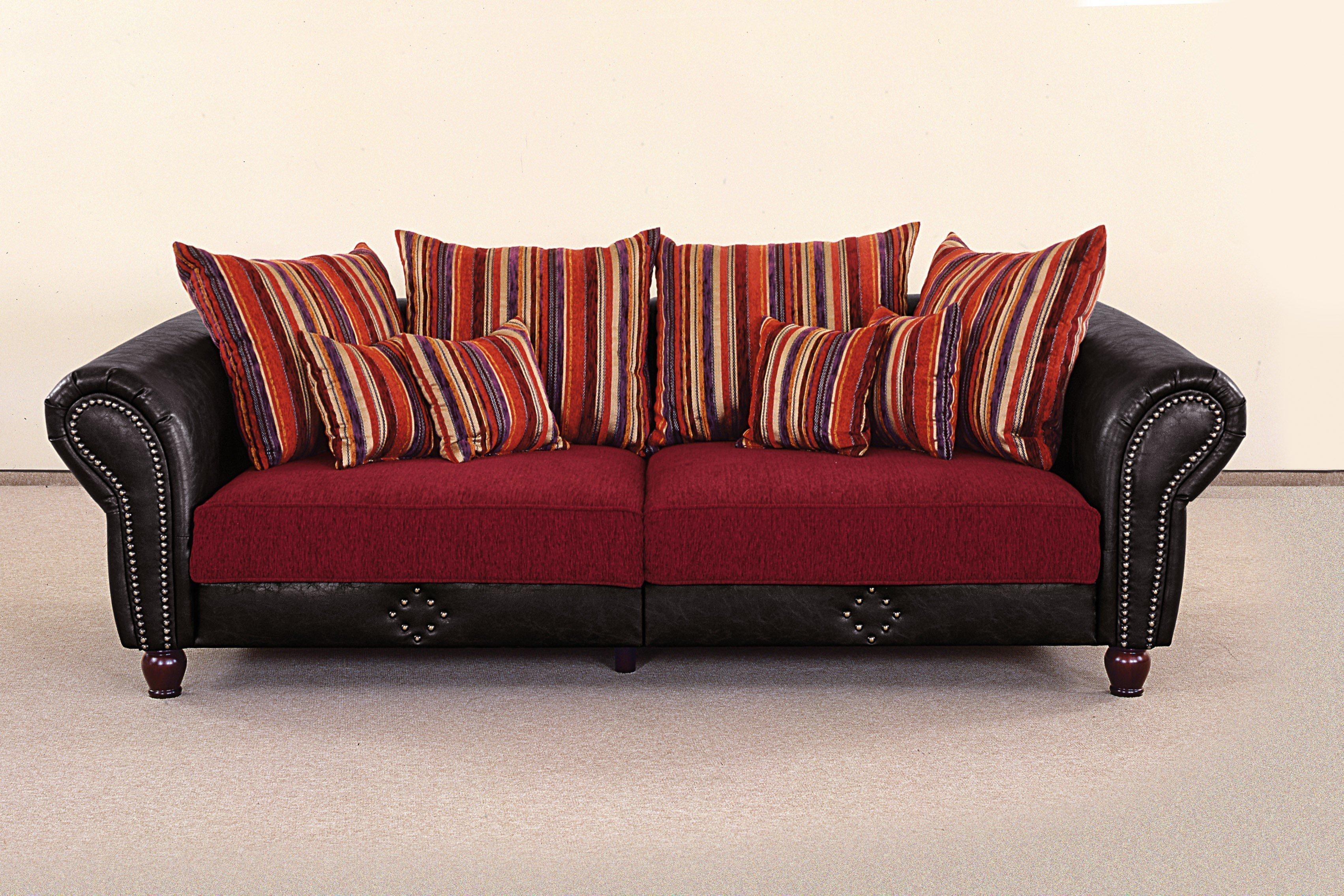 grant factory carlos xxl sofa rot anthrazit m bel letz ihr online shop. Black Bedroom Furniture Sets. Home Design Ideas