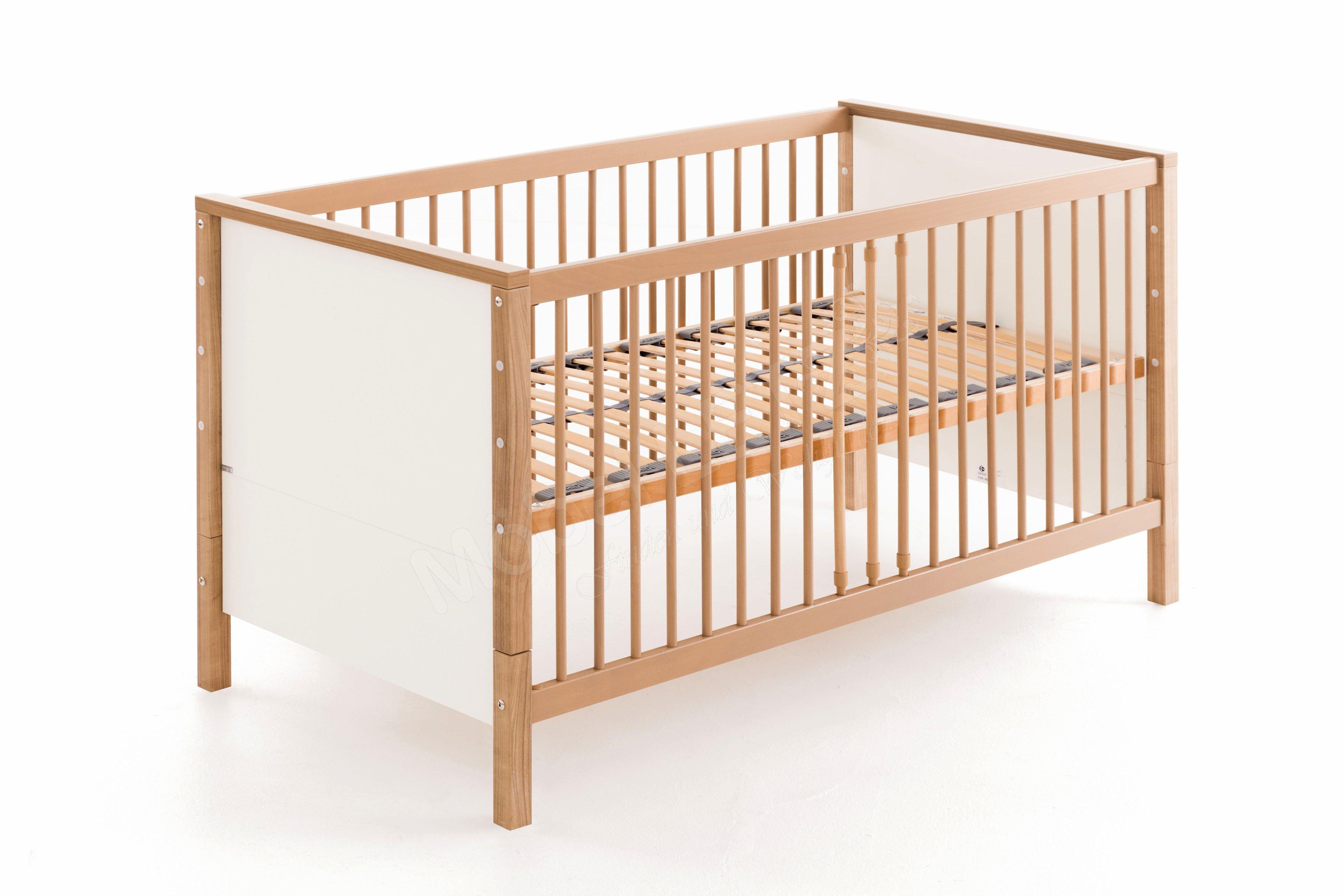 paidi leo babyett mit zus tzlichen bettseiten m bel letz ihr online shop. Black Bedroom Furniture Sets. Home Design Ideas