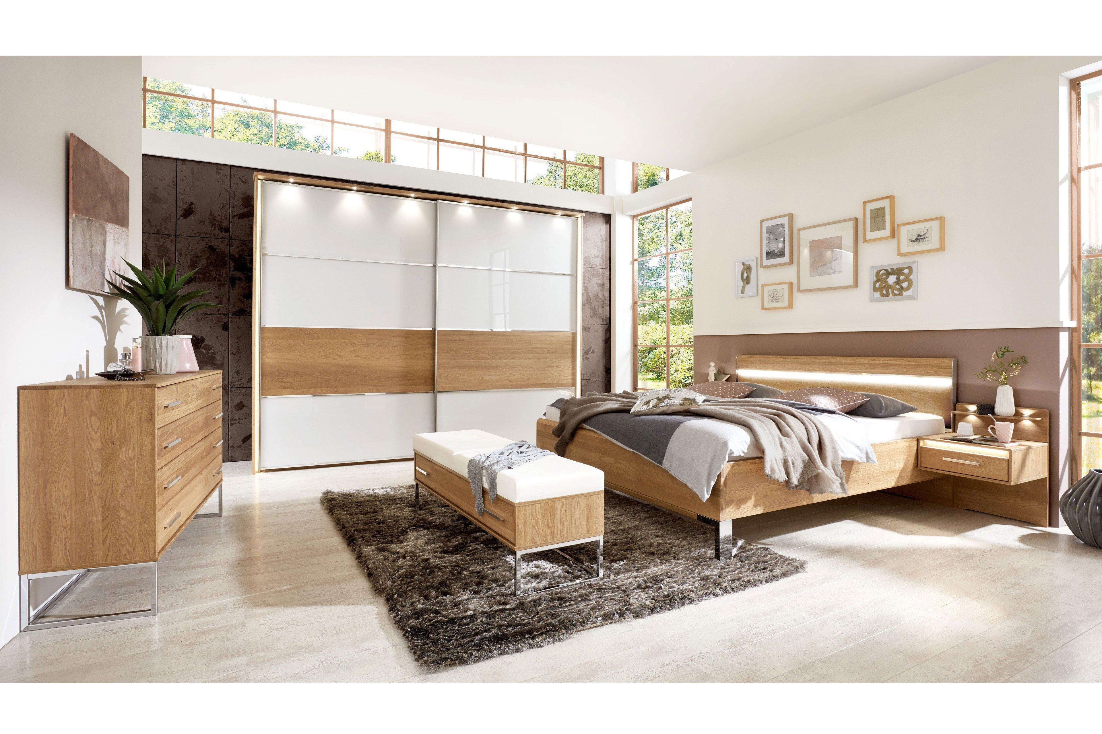 Palermo von Wiemann - Schlafzimmer Eiche teilmassiv