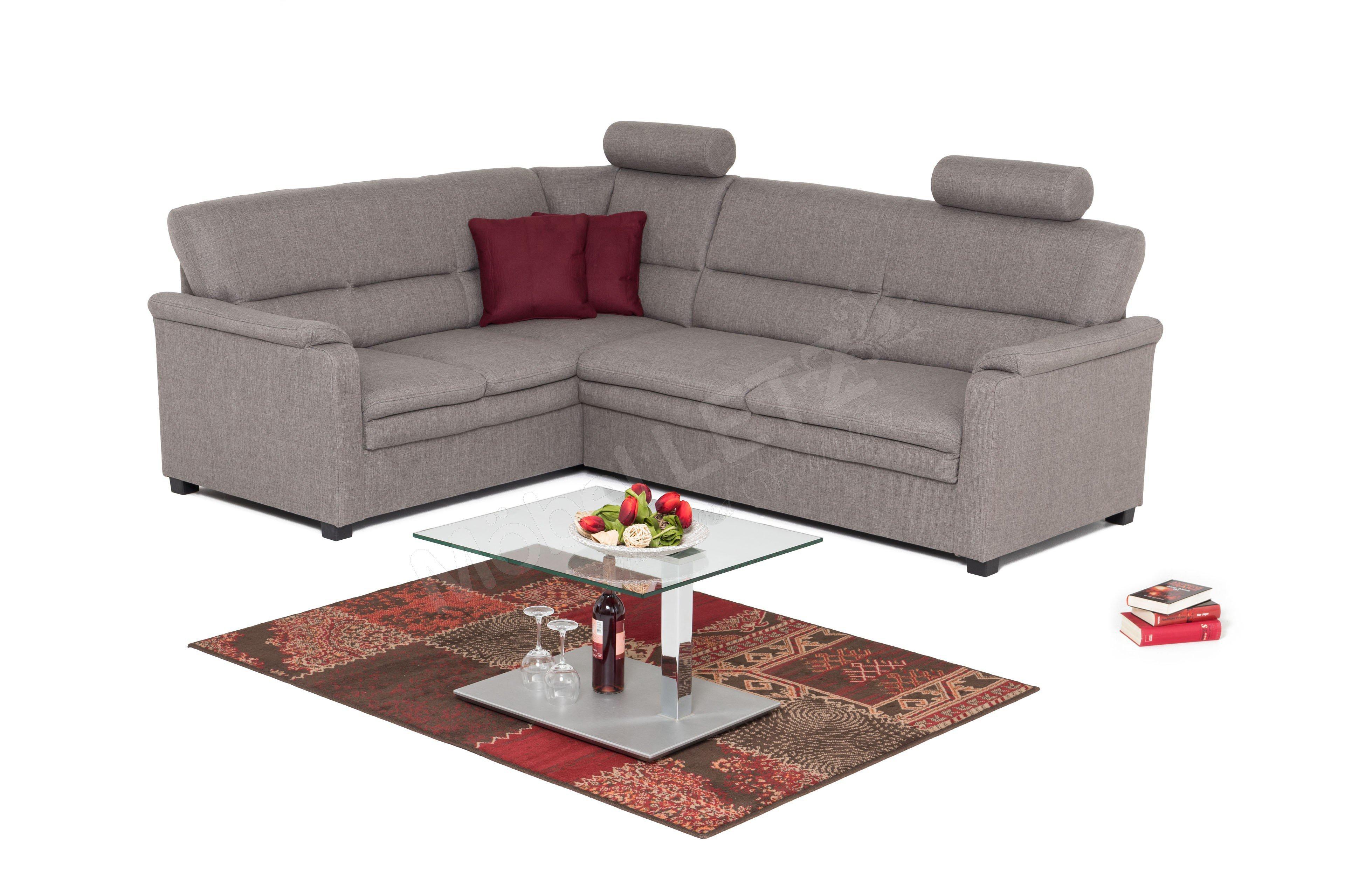 sit more home basic pisa polstergarnitur grau m bel. Black Bedroom Furniture Sets. Home Design Ideas