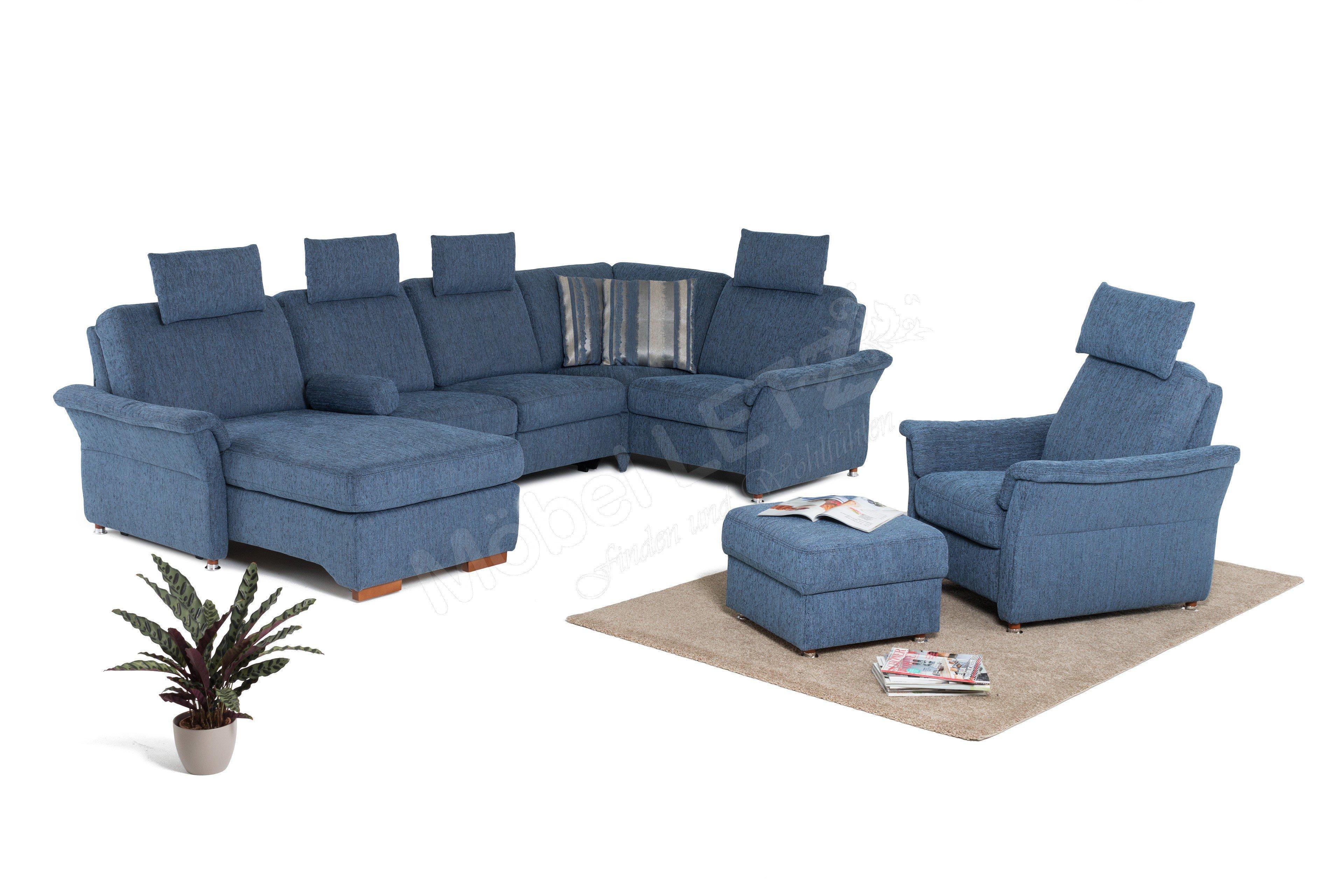 PM Oelsa Namo Polstergarnitur in Blau | Möbel Letz - Ihr Online-Shop