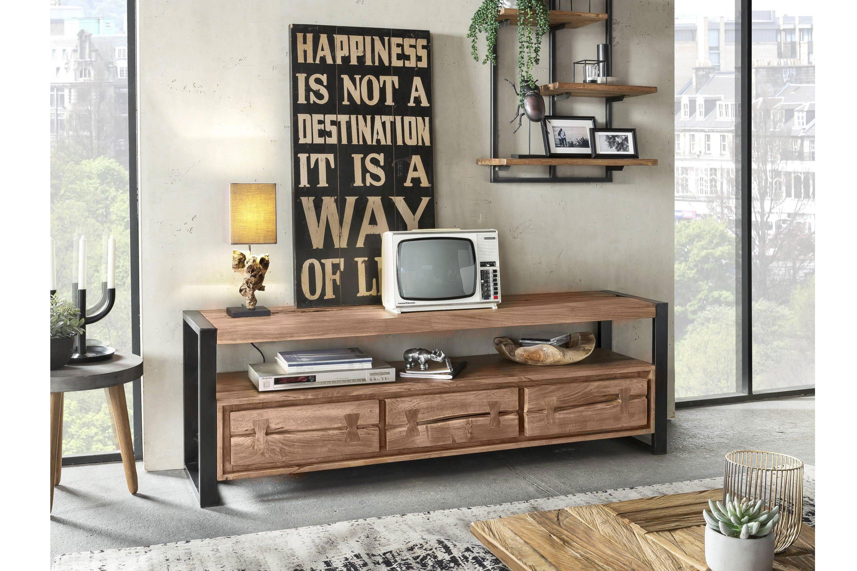 Sit Möbel Lowboard Live Edge Akazienholz Möbel Letz Ihr Online Shop