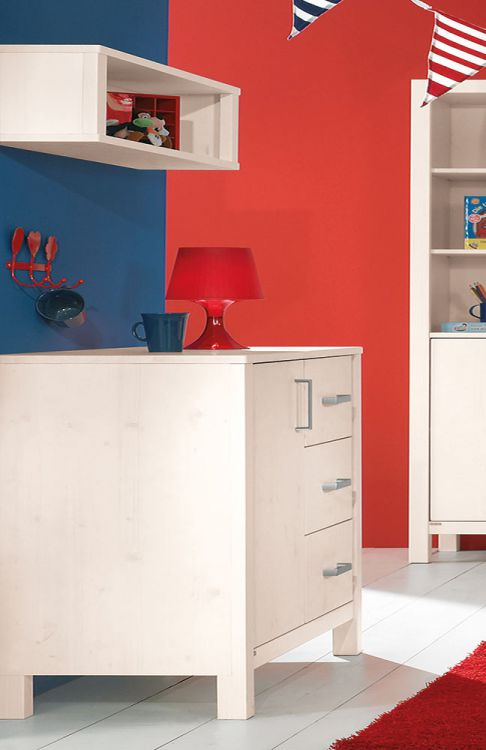 Pinetta Von Paidi   Kinderzimmer Fichte Weiß