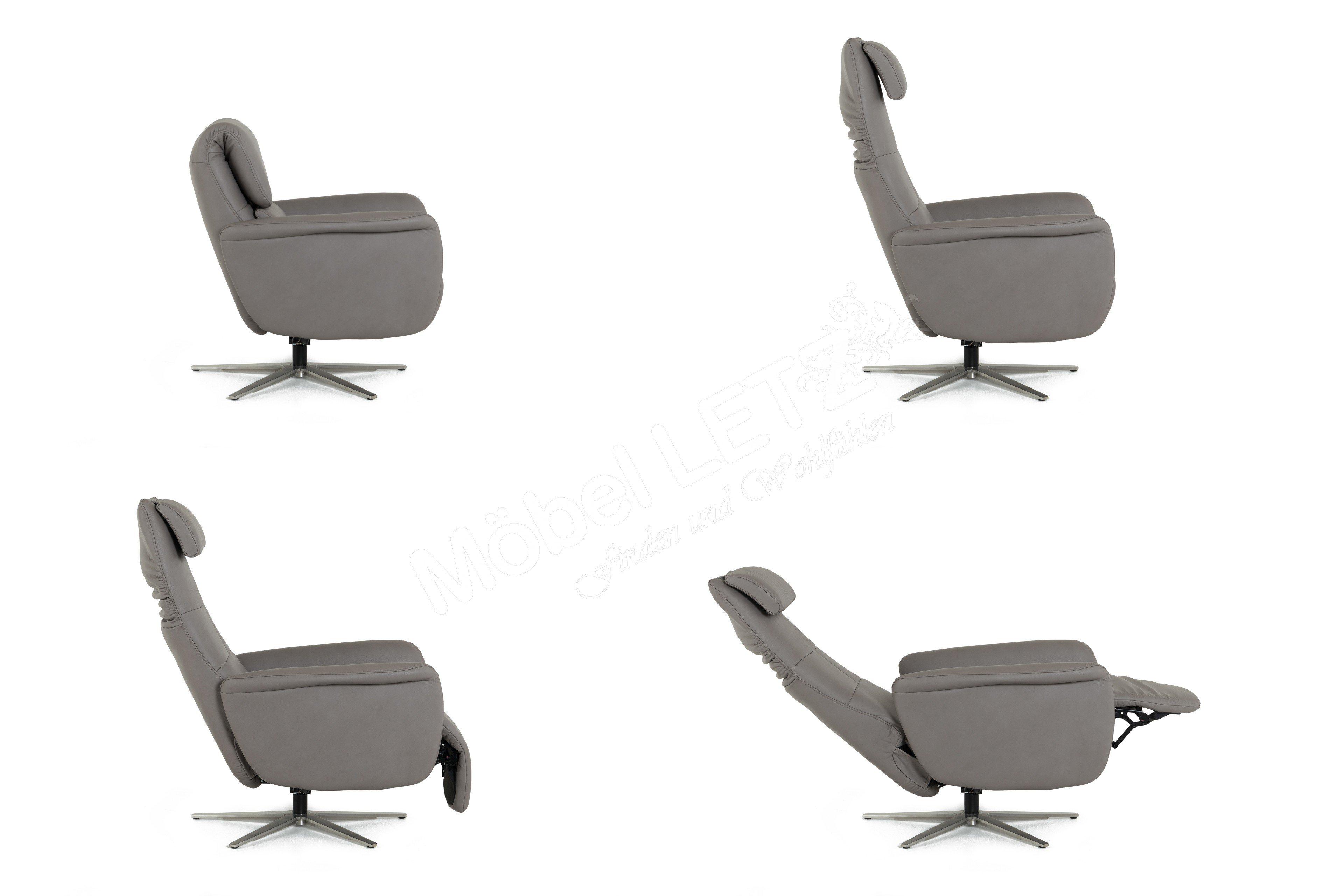 Hukla Lc02 Relaxsessel In Grau Möbel Letz Ihr Online Shop