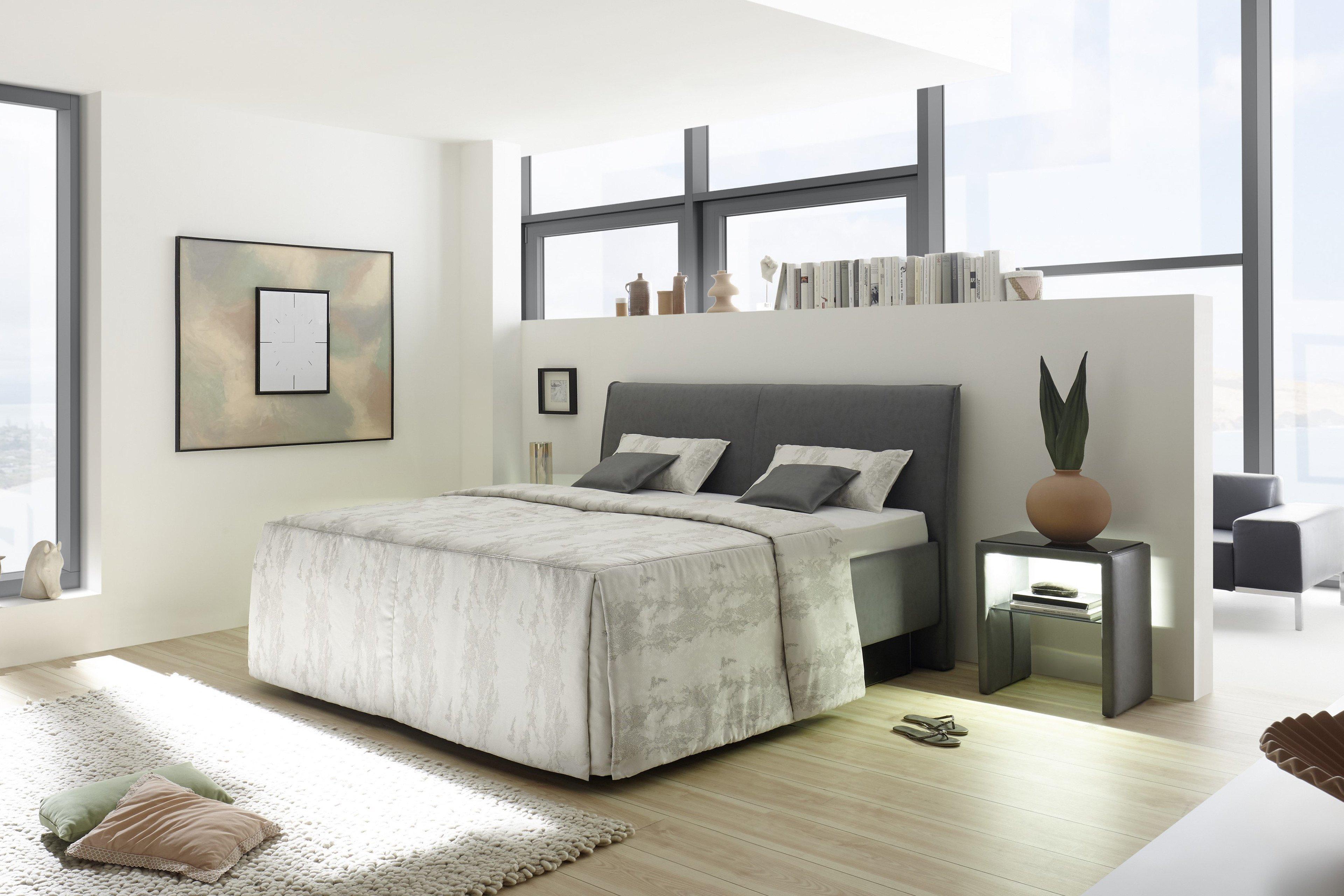 Polsterbett Adimo von Ruf in Grau | Möbel Letz - Ihr Online-Shop