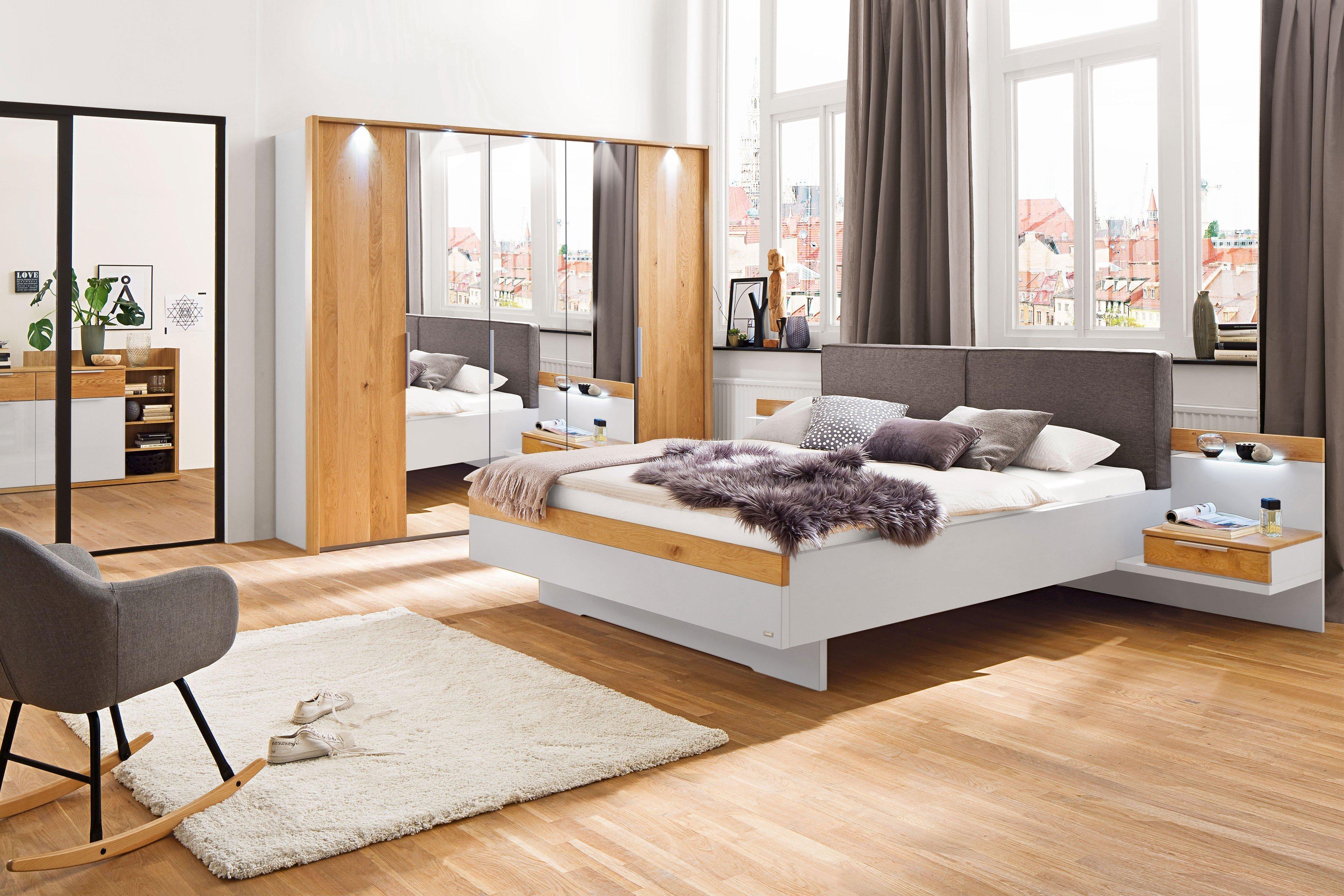 Schlafzimmer Calgary von Casada Wildeiche - Spiegel | Möbel Letz ...