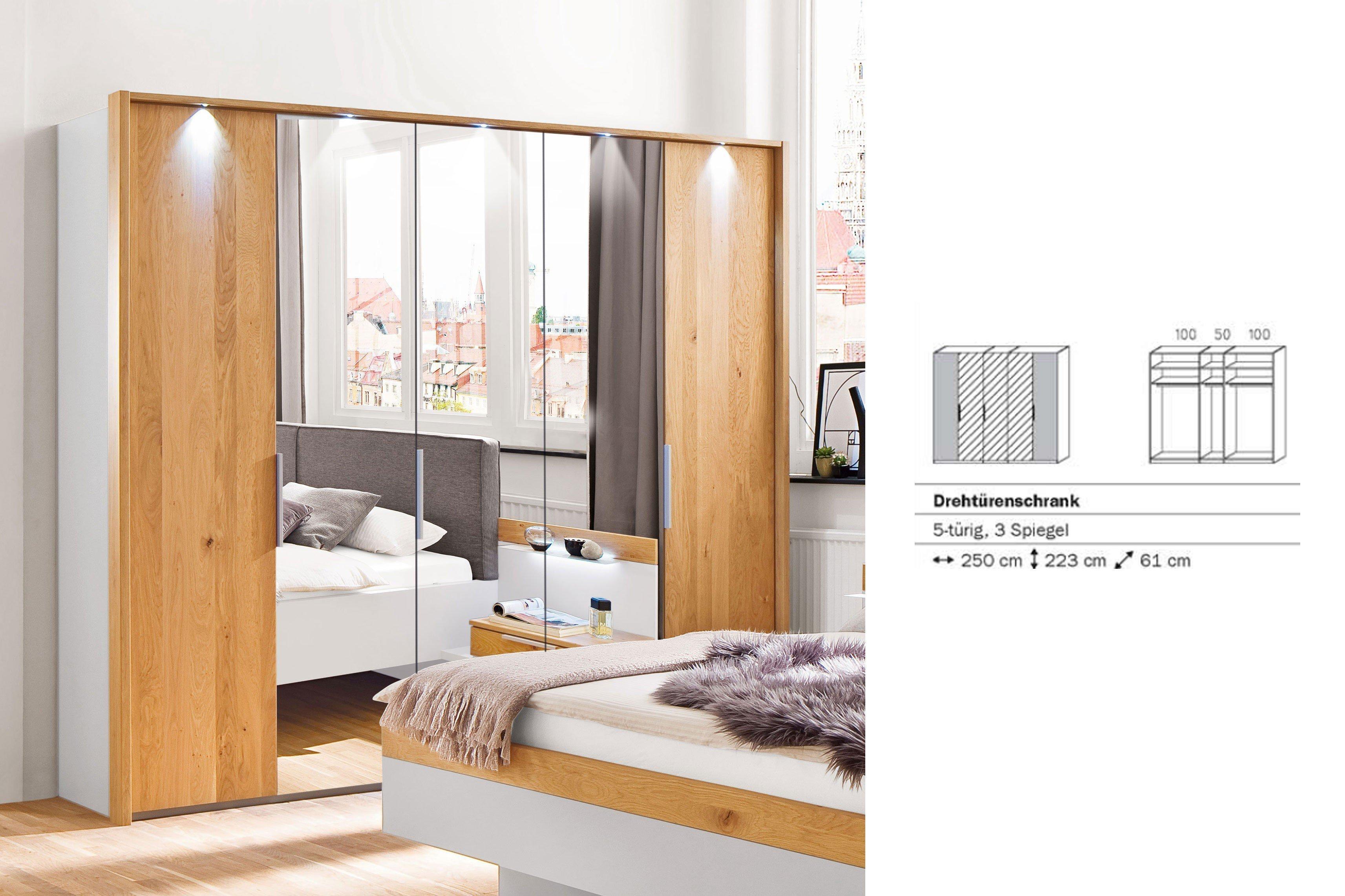 schlafzimmer calgary von casada wildeiche spiegel m bel letz ihr online shop. Black Bedroom Furniture Sets. Home Design Ideas