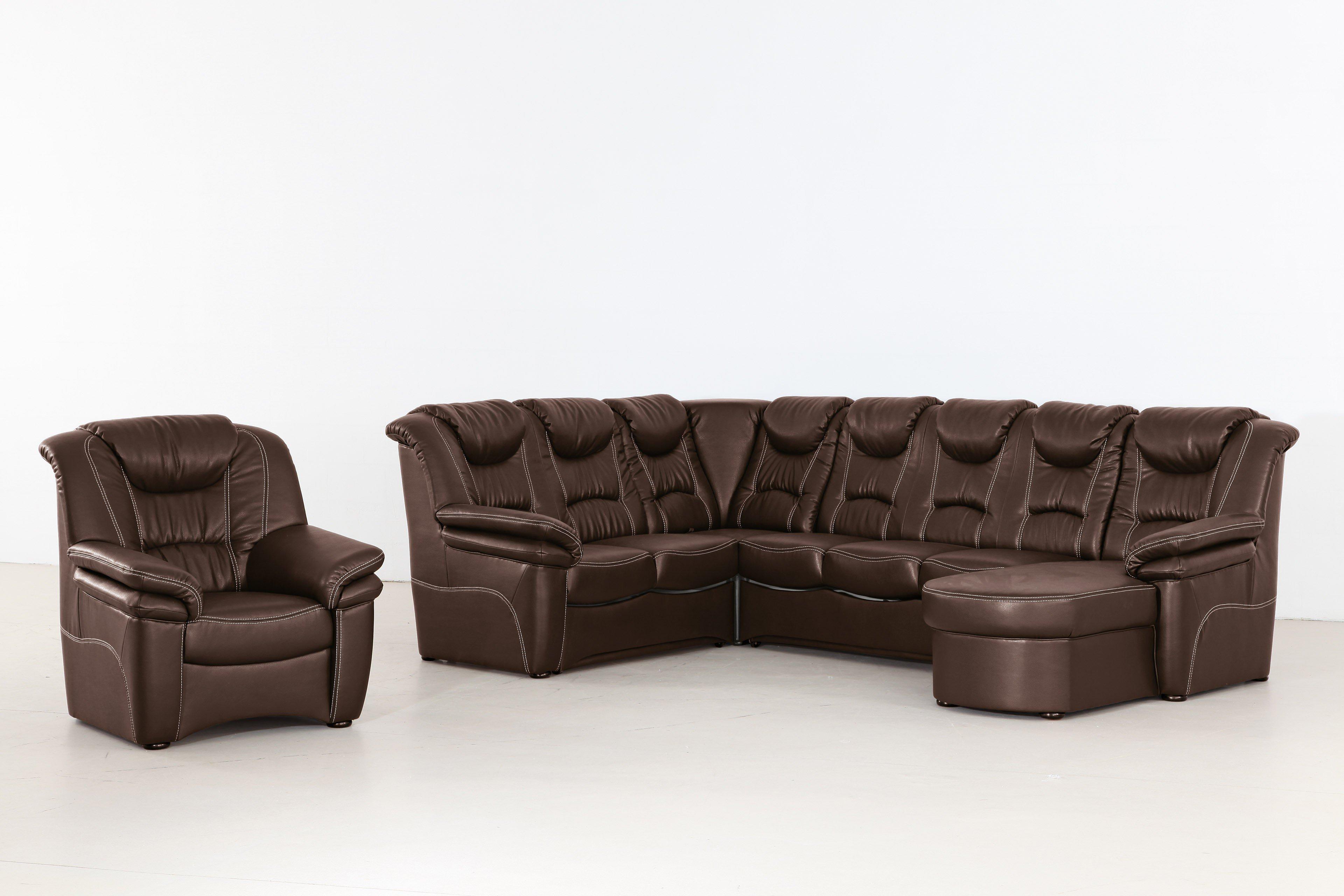 Grant Factory Rom Wohnlandschaft schoko | Möbel Letz - Ihr Online-Shop