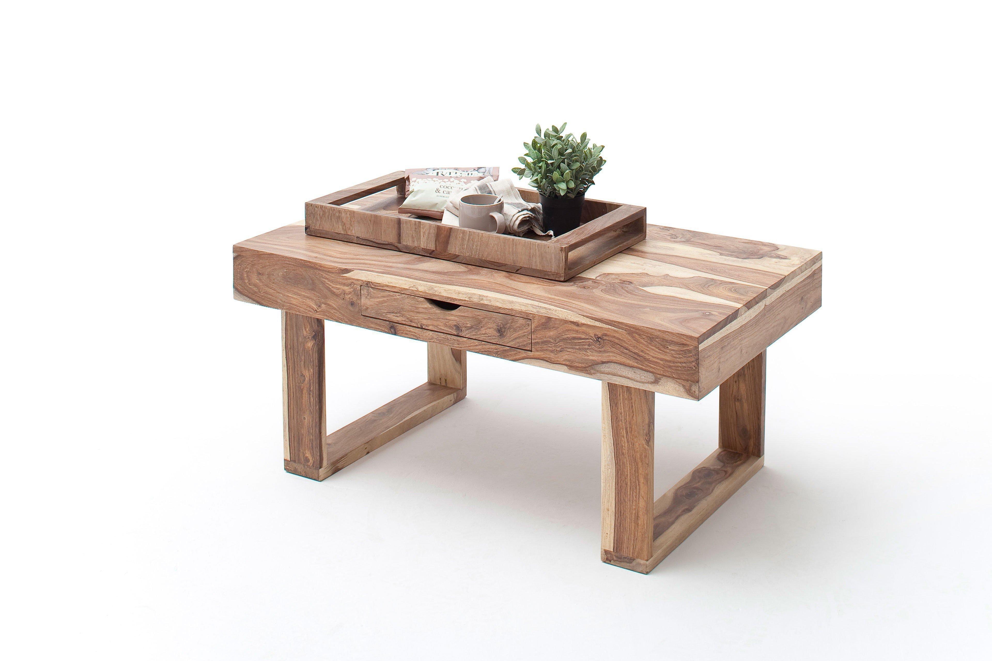 Mca Direkt Couchtisch Mcart Wood Drego Sheesham Natur Möbel Letz