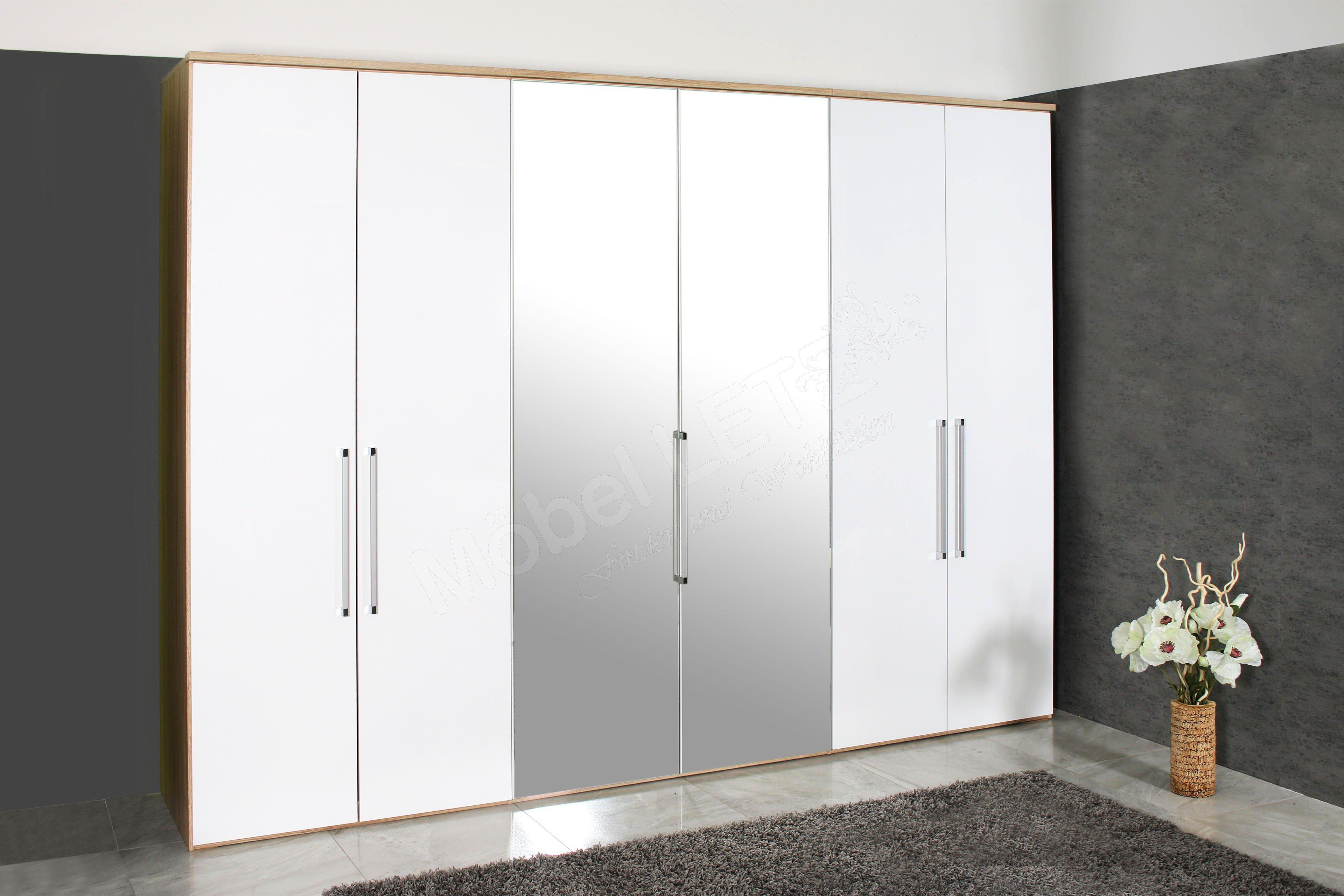 nolte horizont 8000 kleiderschrank ca 320 cm breit. Black Bedroom Furniture Sets. Home Design Ideas