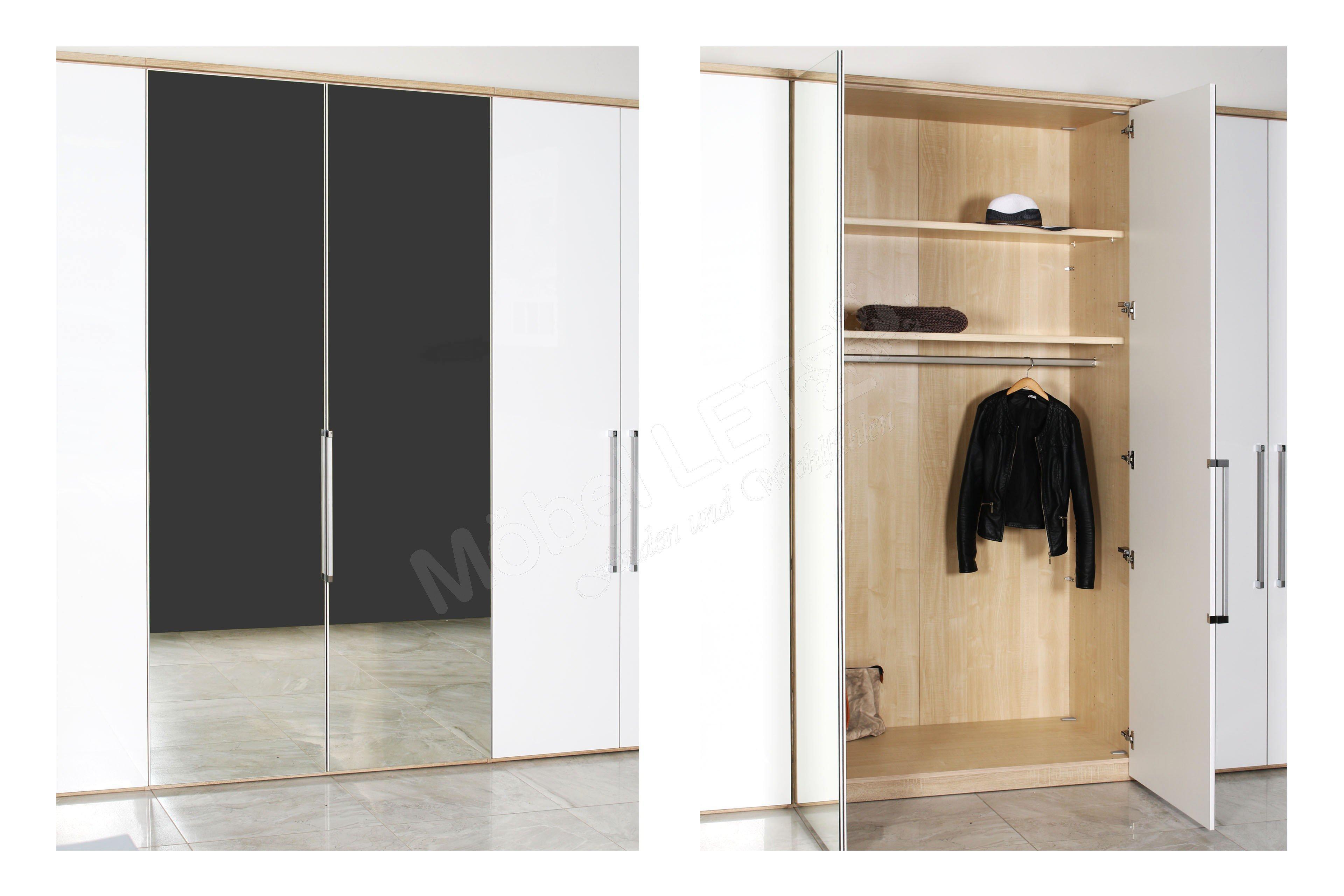 Sympathisch Kleiderschrank 250 Breit Dekoration Von Horizont 8000 Von Nolte - Schrank Hochglanz
