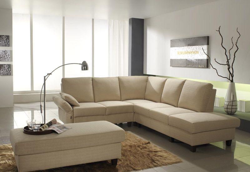 Ecksofa beige  EMP Extasy 561 - 586 Sofa in Beige | Möbel Letz - Ihr Online-Shop