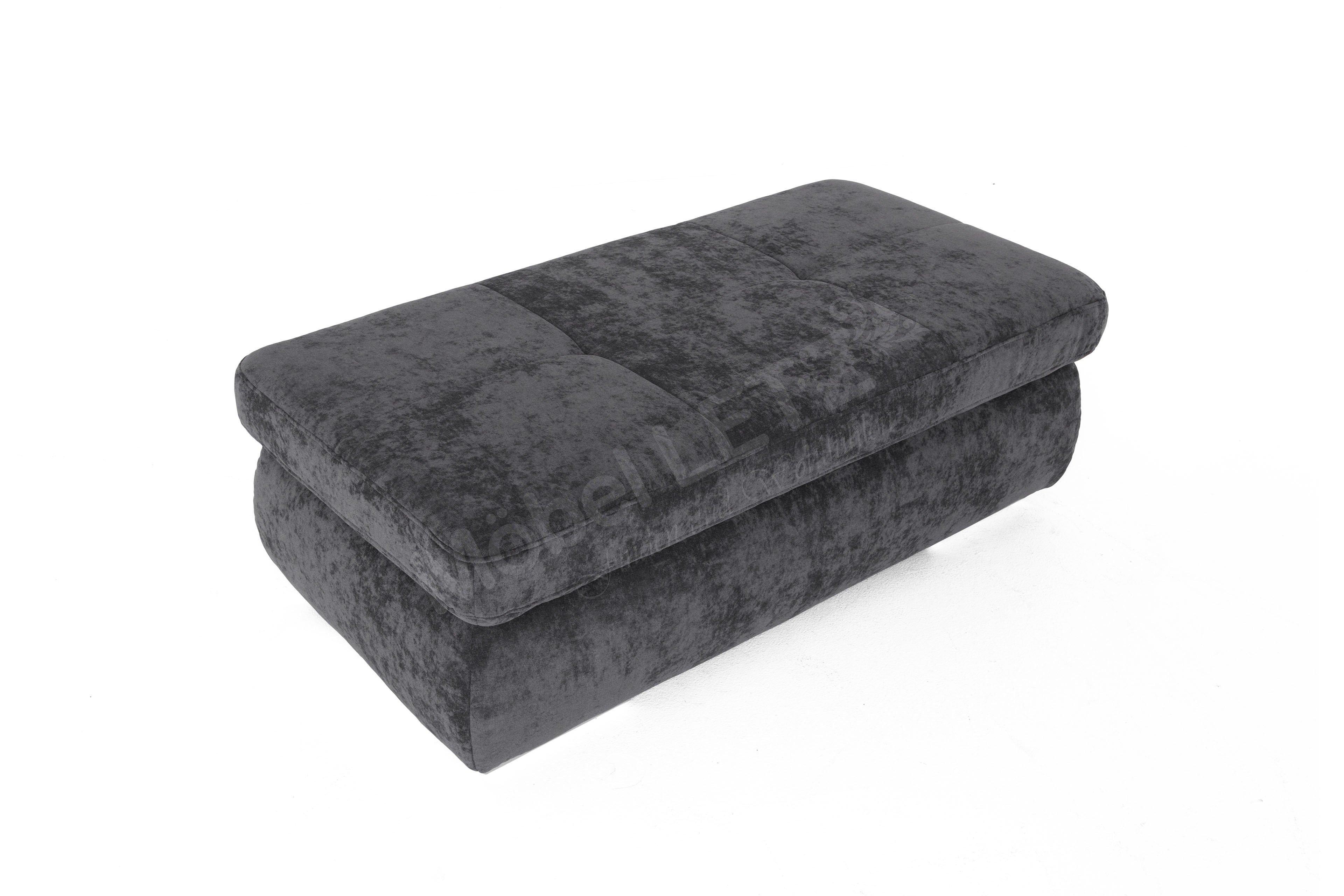 xxl hocker xxlcouch mit hocker und vielen kissen with xxl. Black Bedroom Furniture Sets. Home Design Ideas