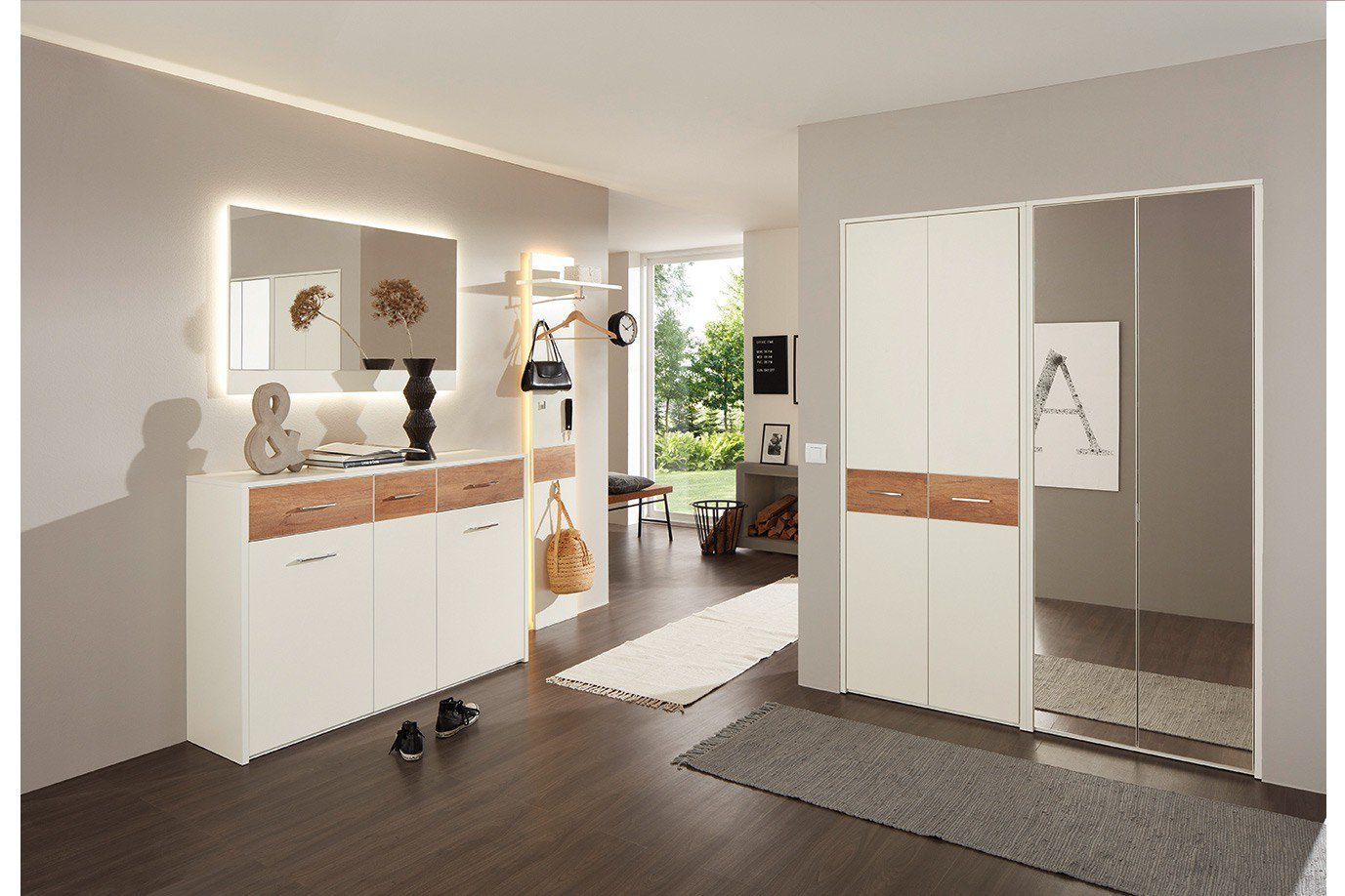 Garderobe Kiel Plus in Creme-weiß von Prenneis | Möbel Letz - Ihr ...