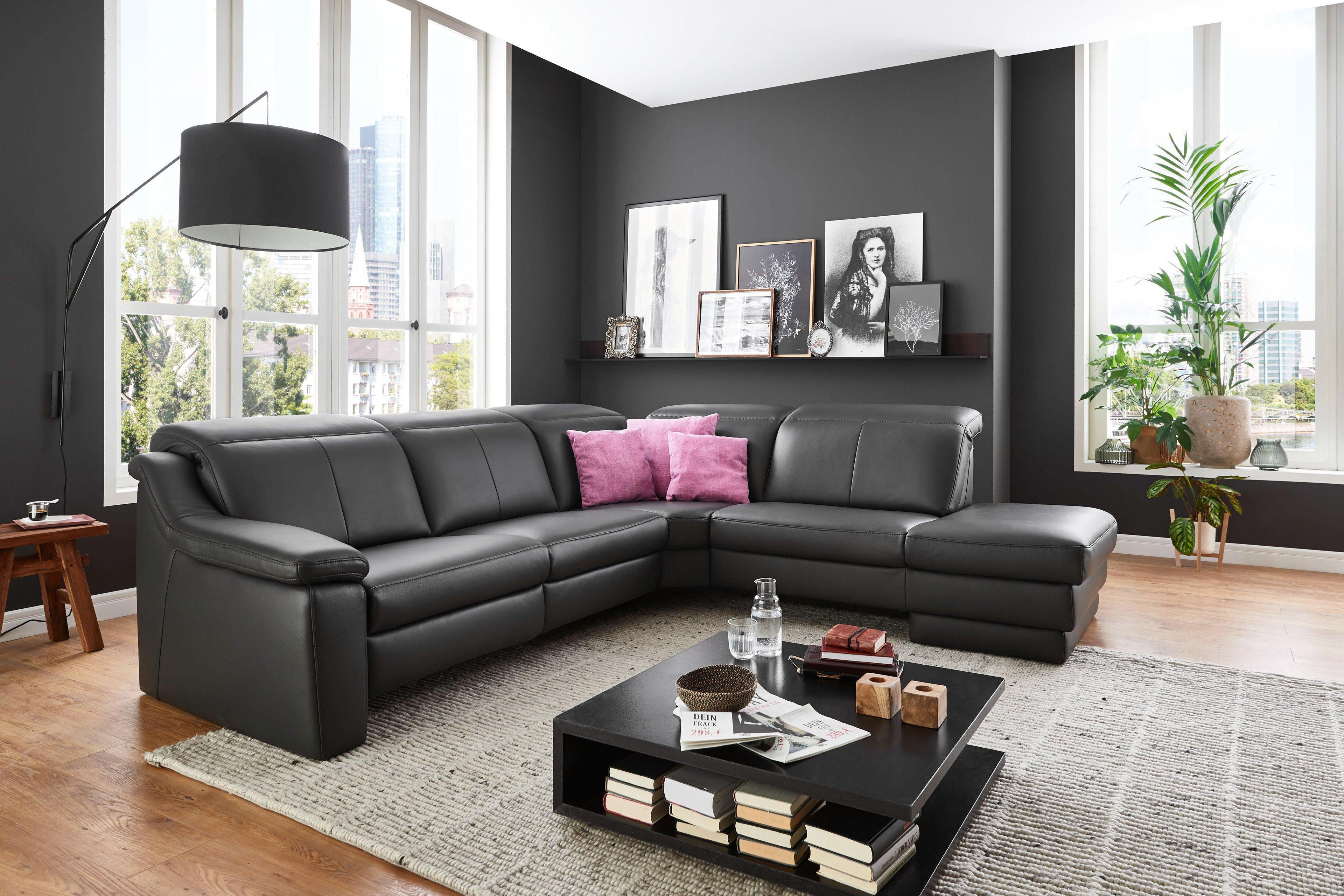 Hukla Sf1862 Couchgarnitur In Dunkelgrau Mobel Letz Ihr Online Shop