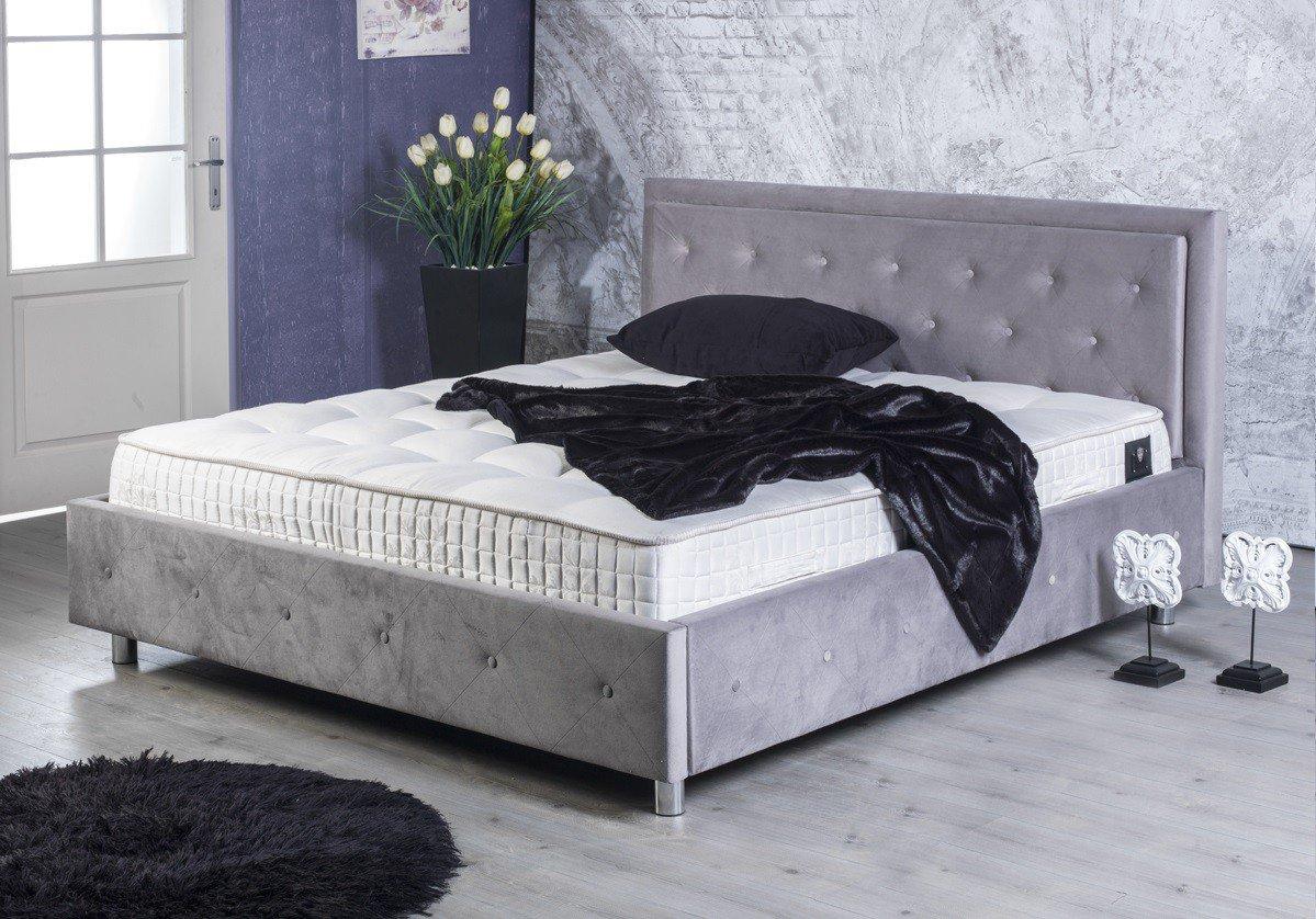 BED BOX Amy 2000 Polsterbett in Grau | Möbel Letz - Ihr Online-Shop