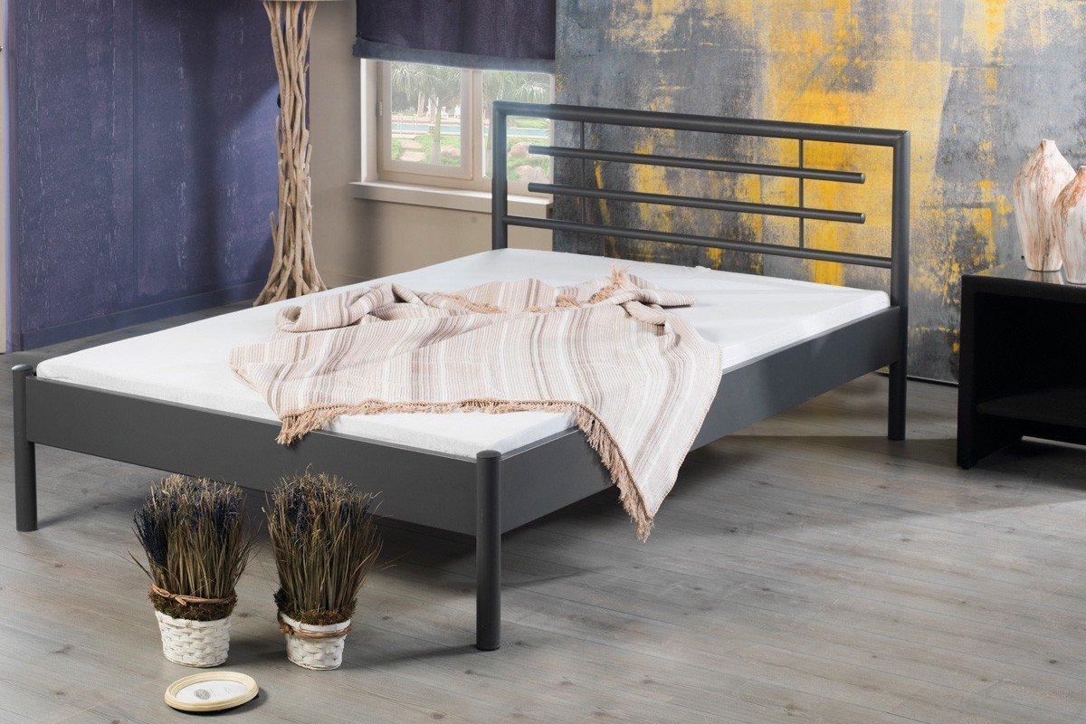 Moni 1001 Von BED BOX   Graues Bett Aus Metall