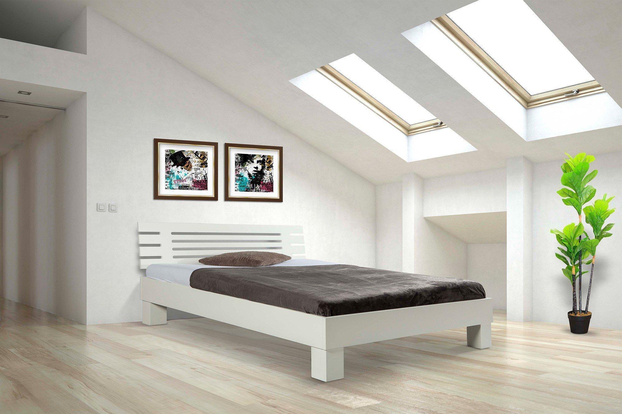 Wunderbar Weißes Holzbett Das Beste Von Standard Von Bed Box - In Buche