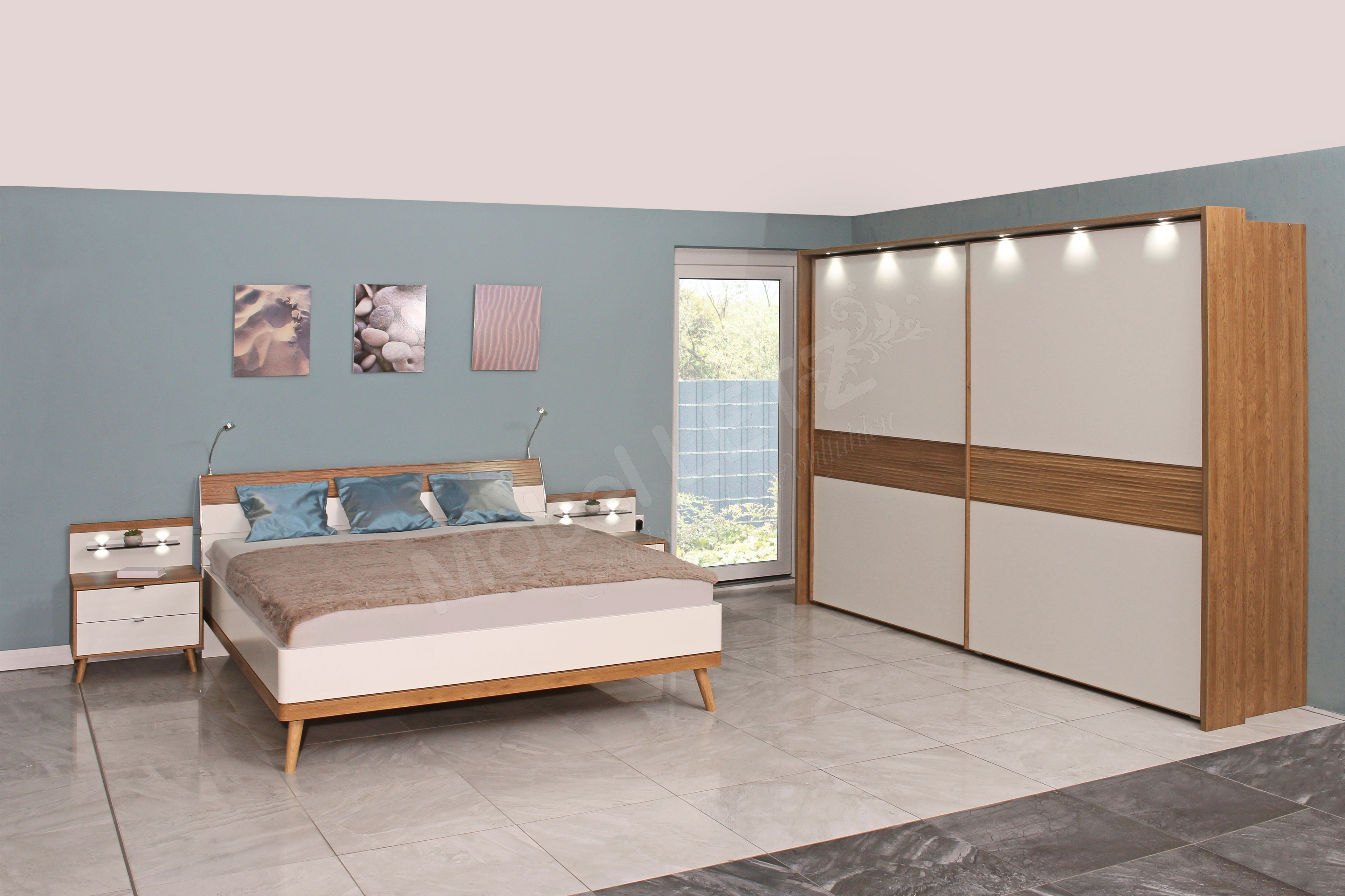 Casada cottage landhaus schlafzimmer mit zubeh r m bel - Schlafzimmer casada ...