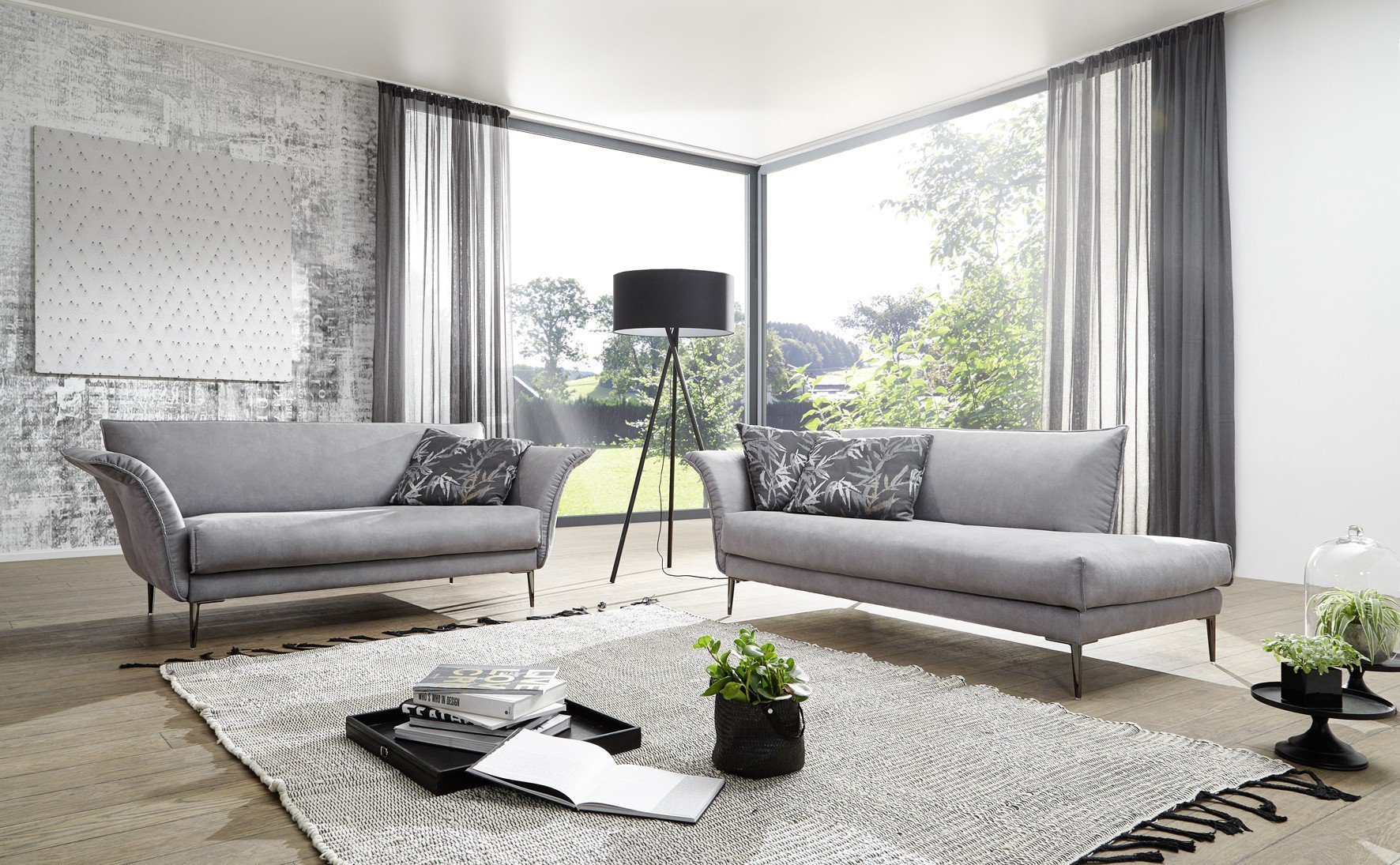 Ponsel S215 Alas Polstergruppe grau | Möbel Letz - Ihr Online-Shop