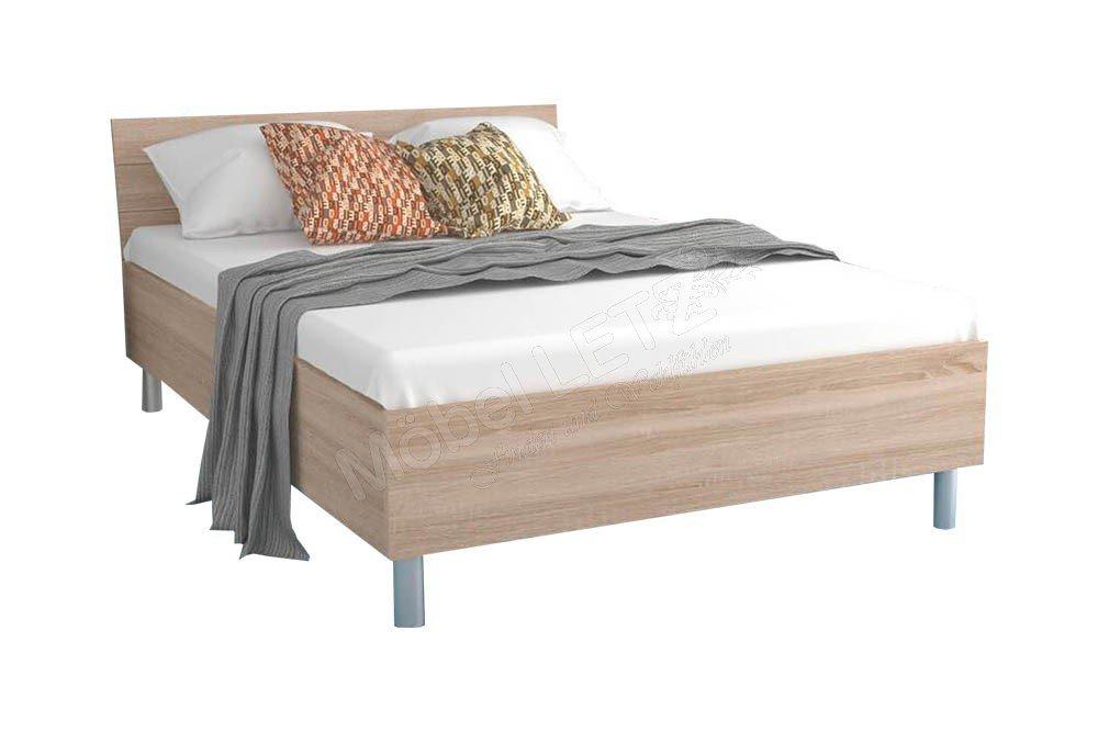 Various Beds Von Forte Bett Sonoma Eiche Mobel Letz Ihr Online