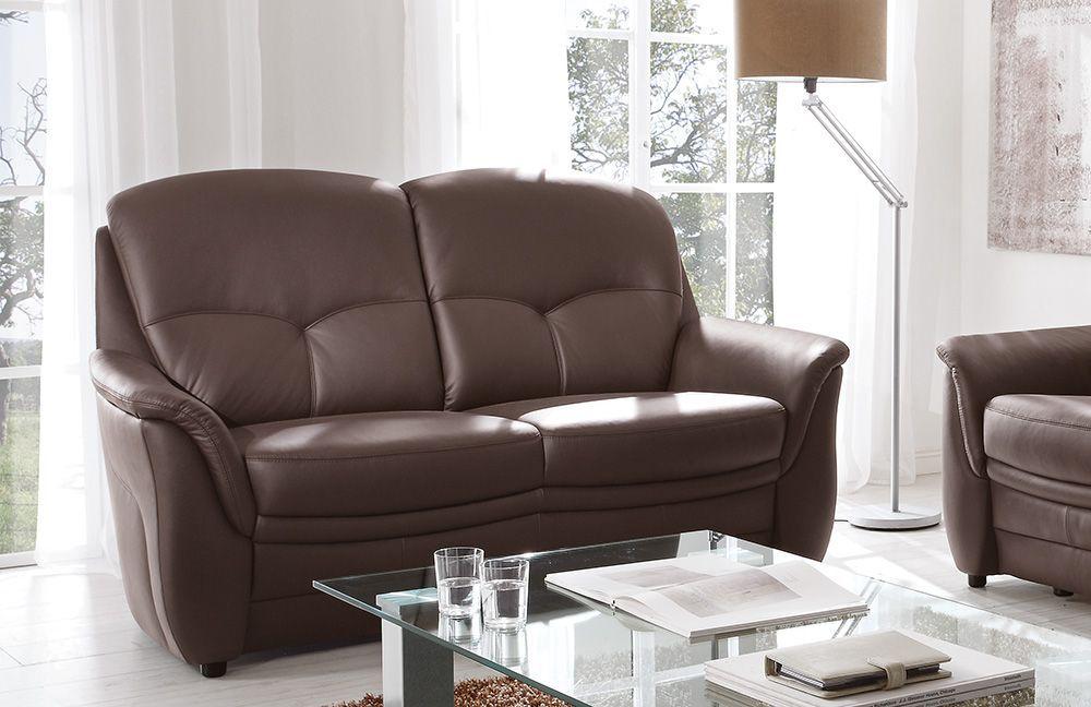 colmar von casada ledergarnitur mocca g nstig online kaufen sofa couch schlafsofa zum. Black Bedroom Furniture Sets. Home Design Ideas