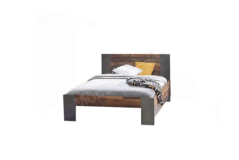 Forte Clif Bett 140 X 200 Cm Old Wood Vintage Mobel Letz Ihr