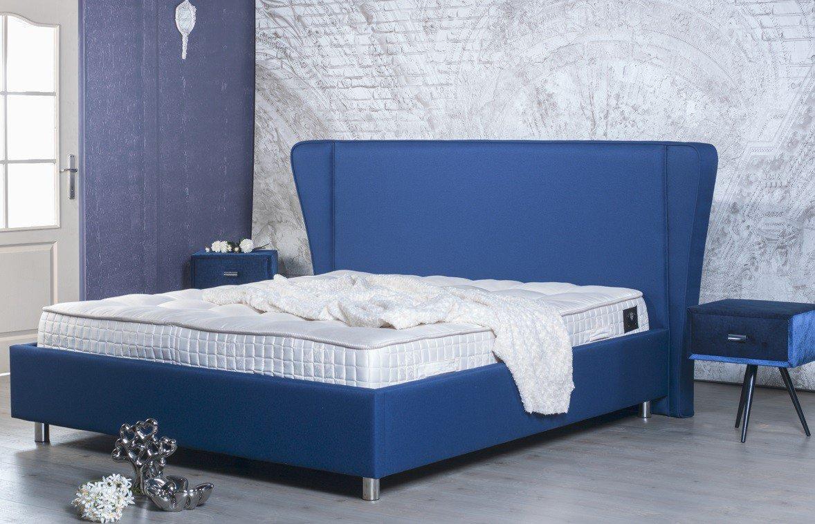 BED BOX Brooklyn 2005 Polsterbett in Blau| Möbel Letz - Ihr Online-Shop