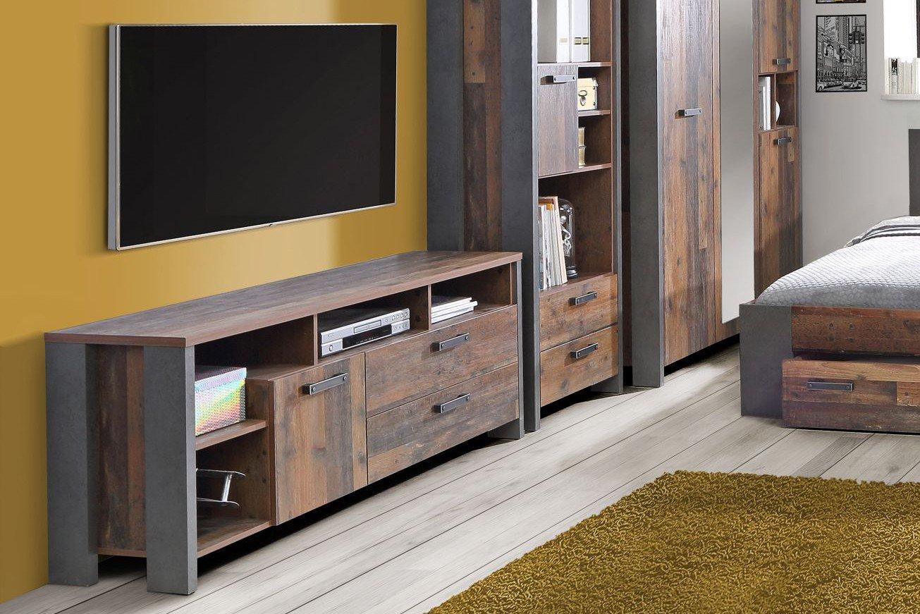 Forte Clif Tv Schrank Old Wood Vintage Möbel Letz Ihr Online Shop