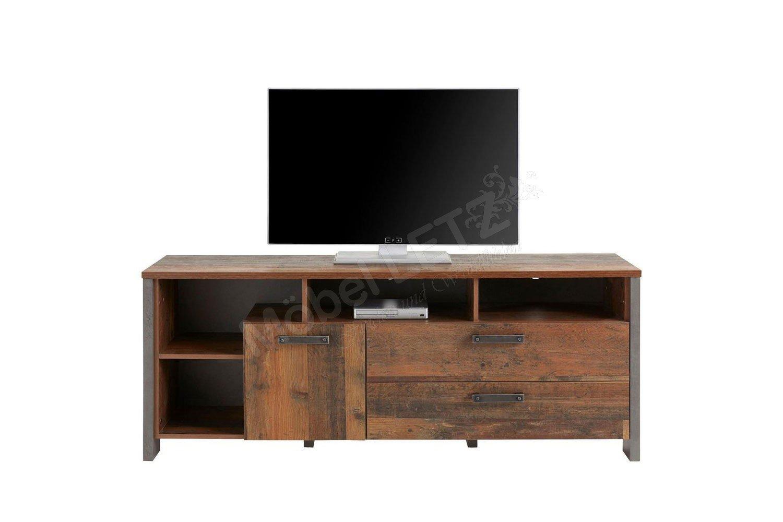 Forte Clif TV-Schrank Old Wood Vintage | Möbel Letz - Ihr Online-Shop