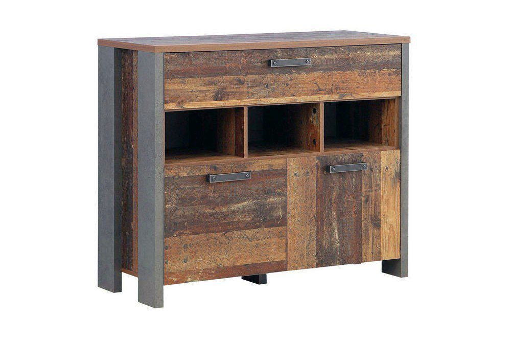 forte clif kombi kommode old wood vintage m bel letz ihr online shop. Black Bedroom Furniture Sets. Home Design Ideas