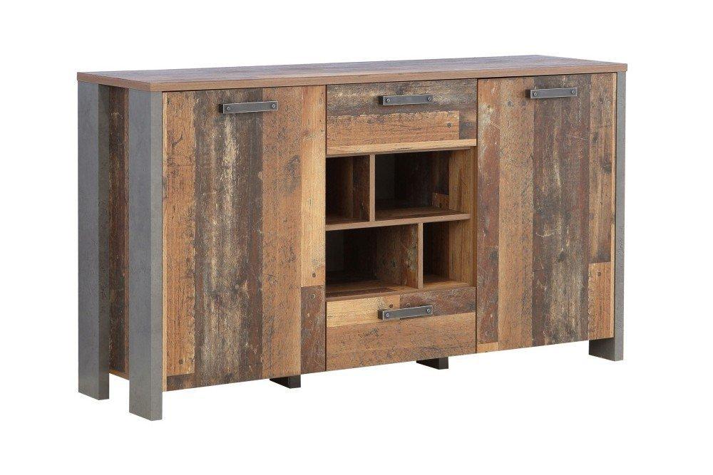 Forte Clif Sideboard Old Wood Vintage Beton Mobel Letz Ihr Online Shop
