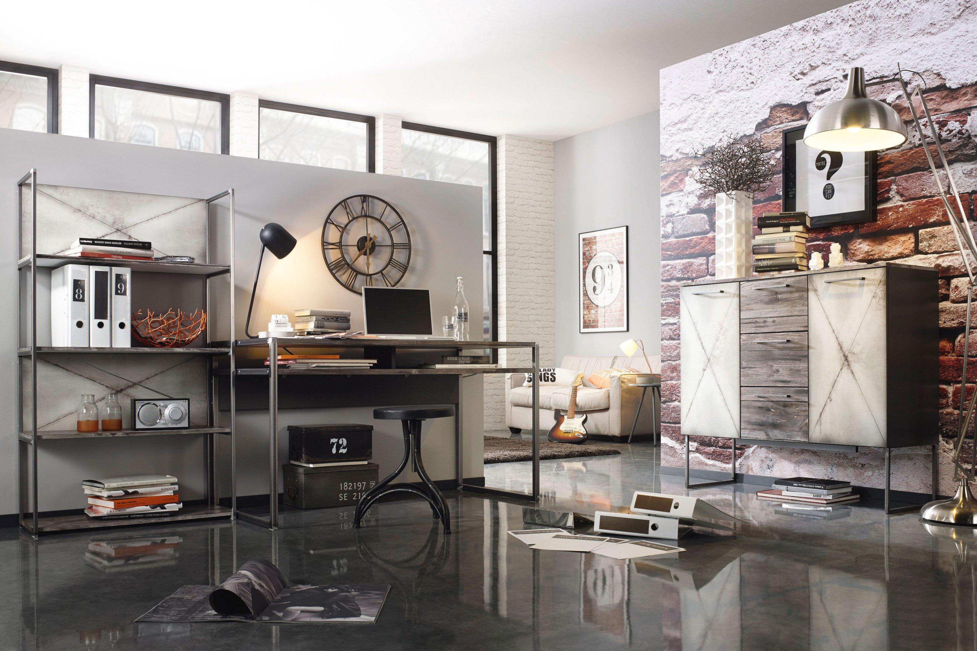 Rauch Timberstyle Schreibtisch Industrialstil Möbel Letz Ihr