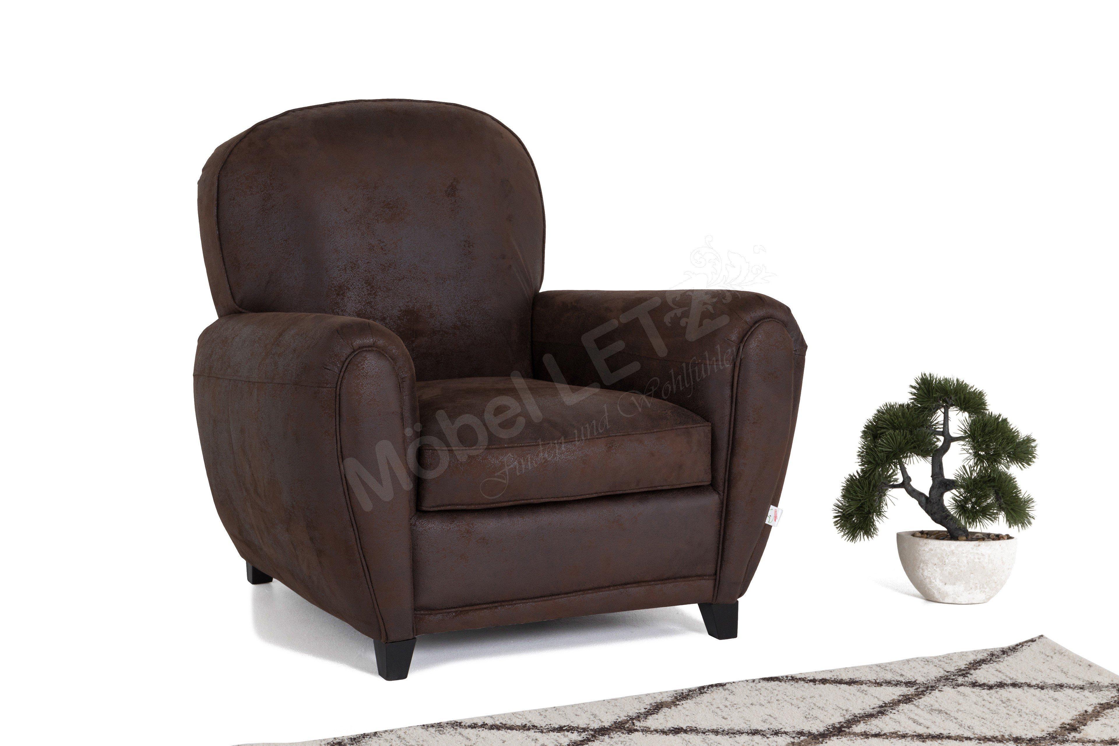 tabalugas lebenstraum sessel in braun m bel letz ihr online shop. Black Bedroom Furniture Sets. Home Design Ideas