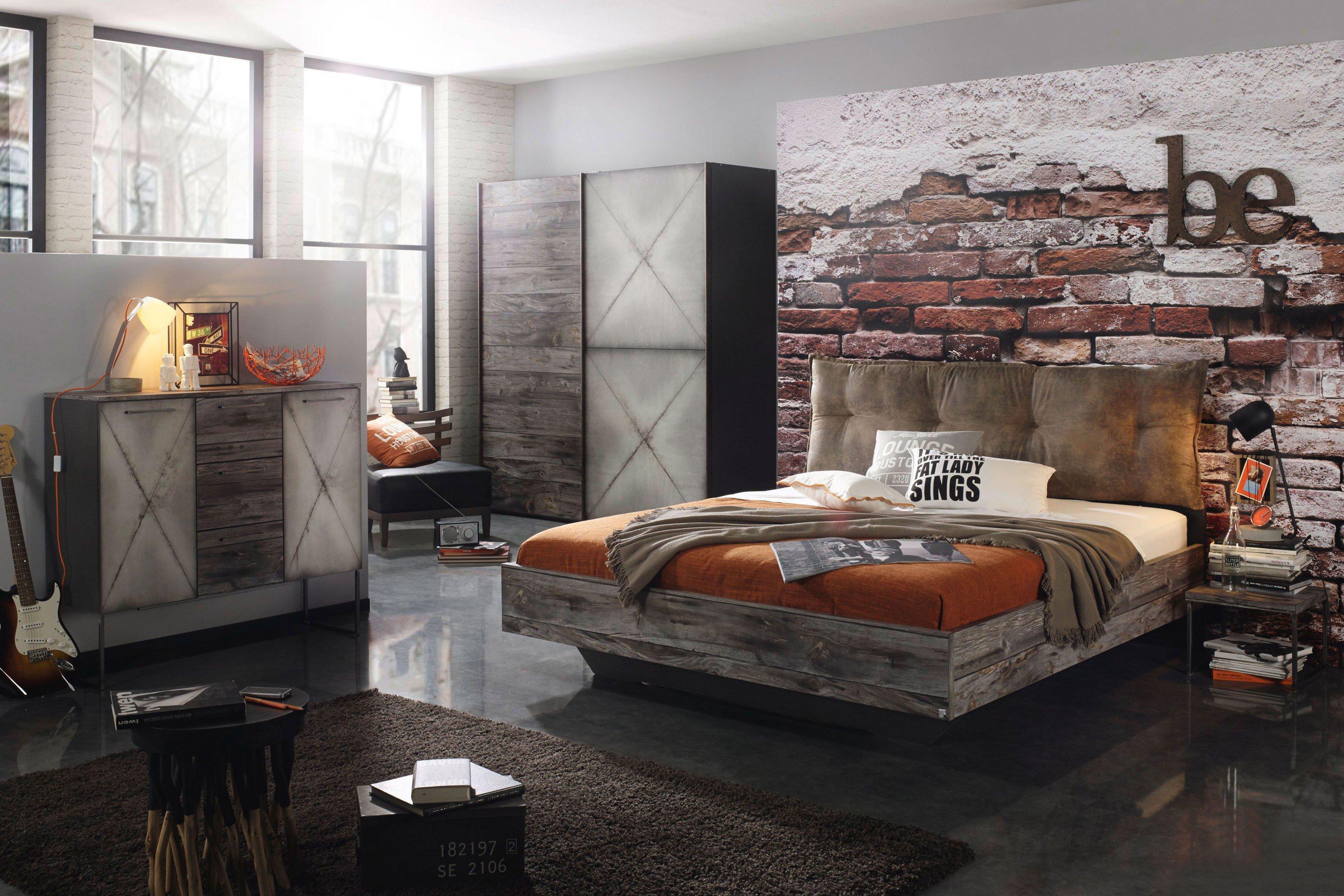 Timberstyle Von Rauch Select   Schlafzimmer Altholz / Stahloptik
