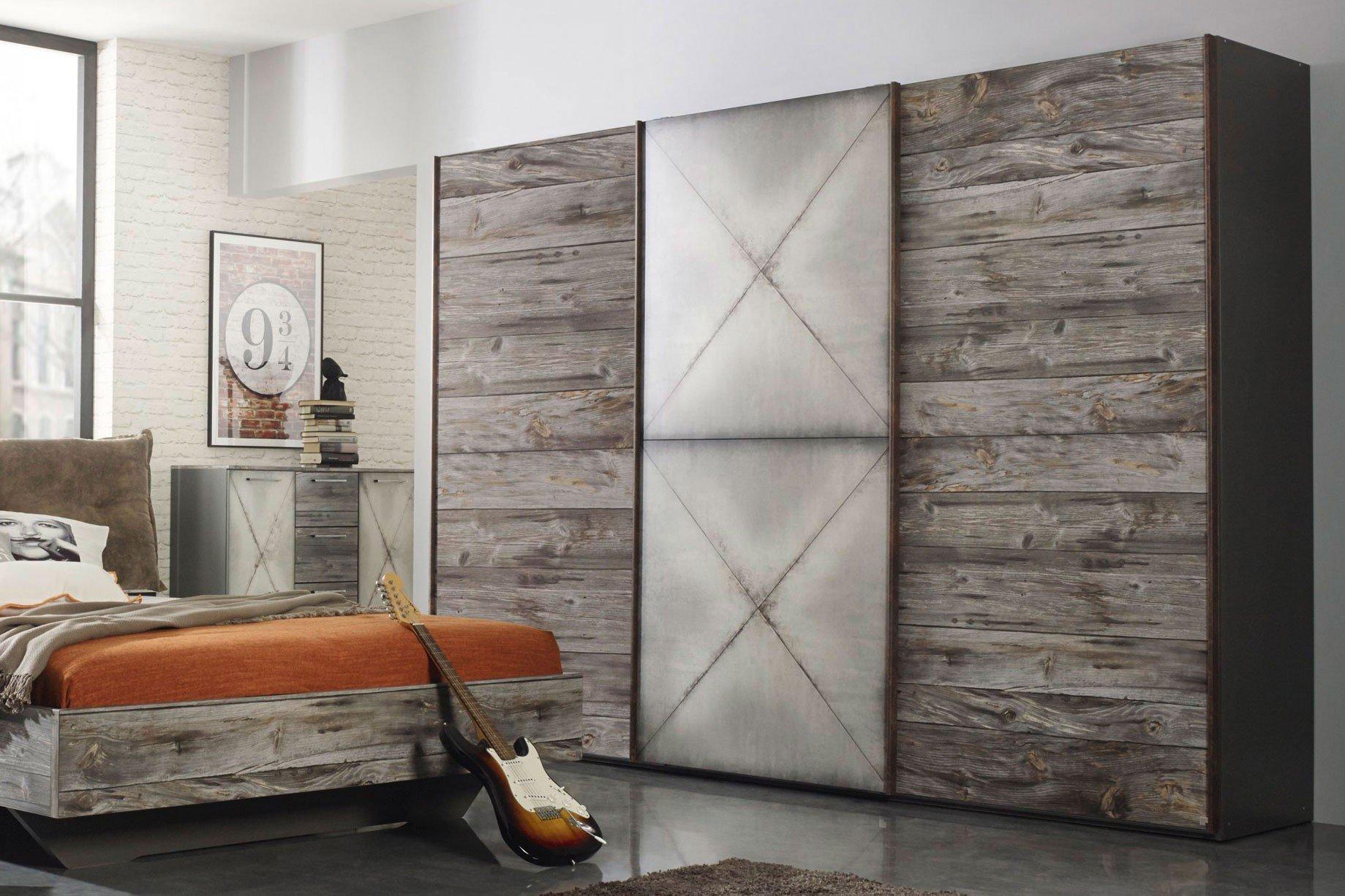 Timberstyle von Rauch Select - Schlafzimmer Sunwood/ Steeldoor