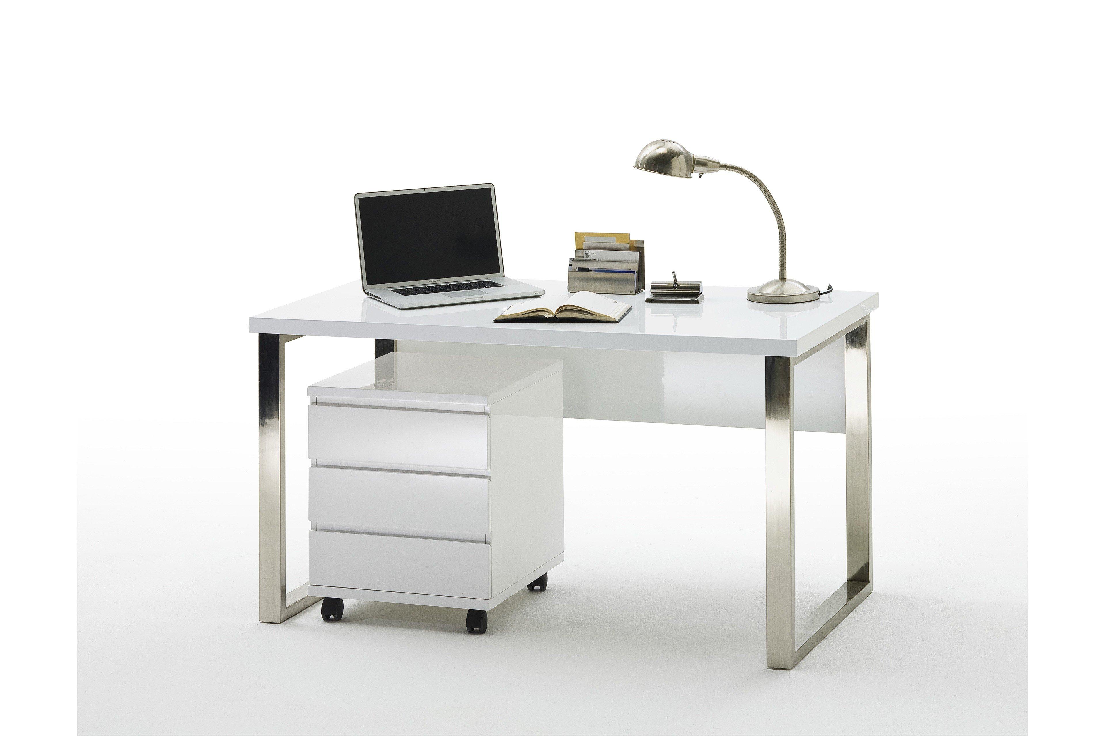 Schreibtisch weisses haus - Weihnachtsdeko buro ...