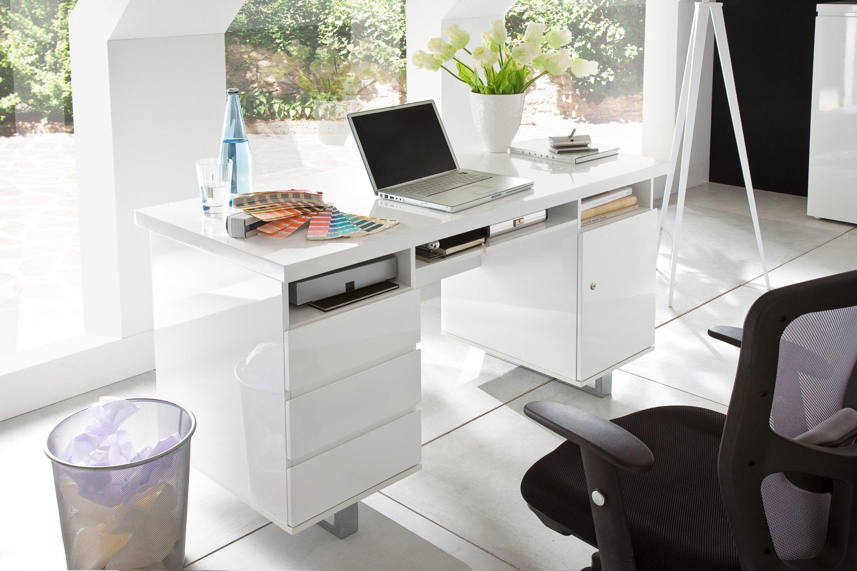 Mca Sydney Schreibtisch Hochglanz Weiß Möbel Letz Ihr Online Shop