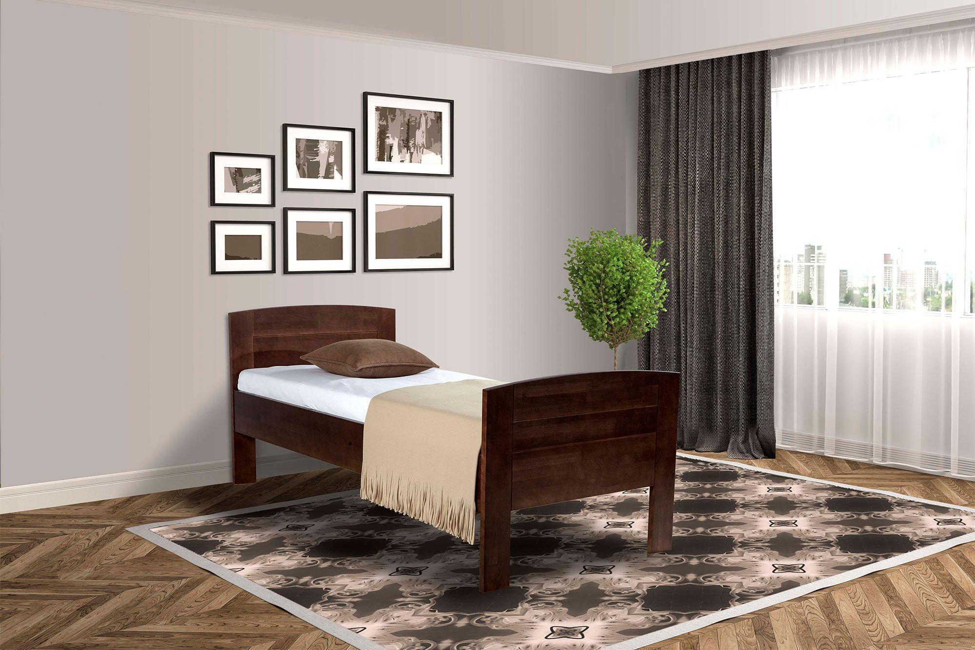 BED BOX Comfort Holzbett Buche wengefarbig | Möbel Letz - Ihr Online ...