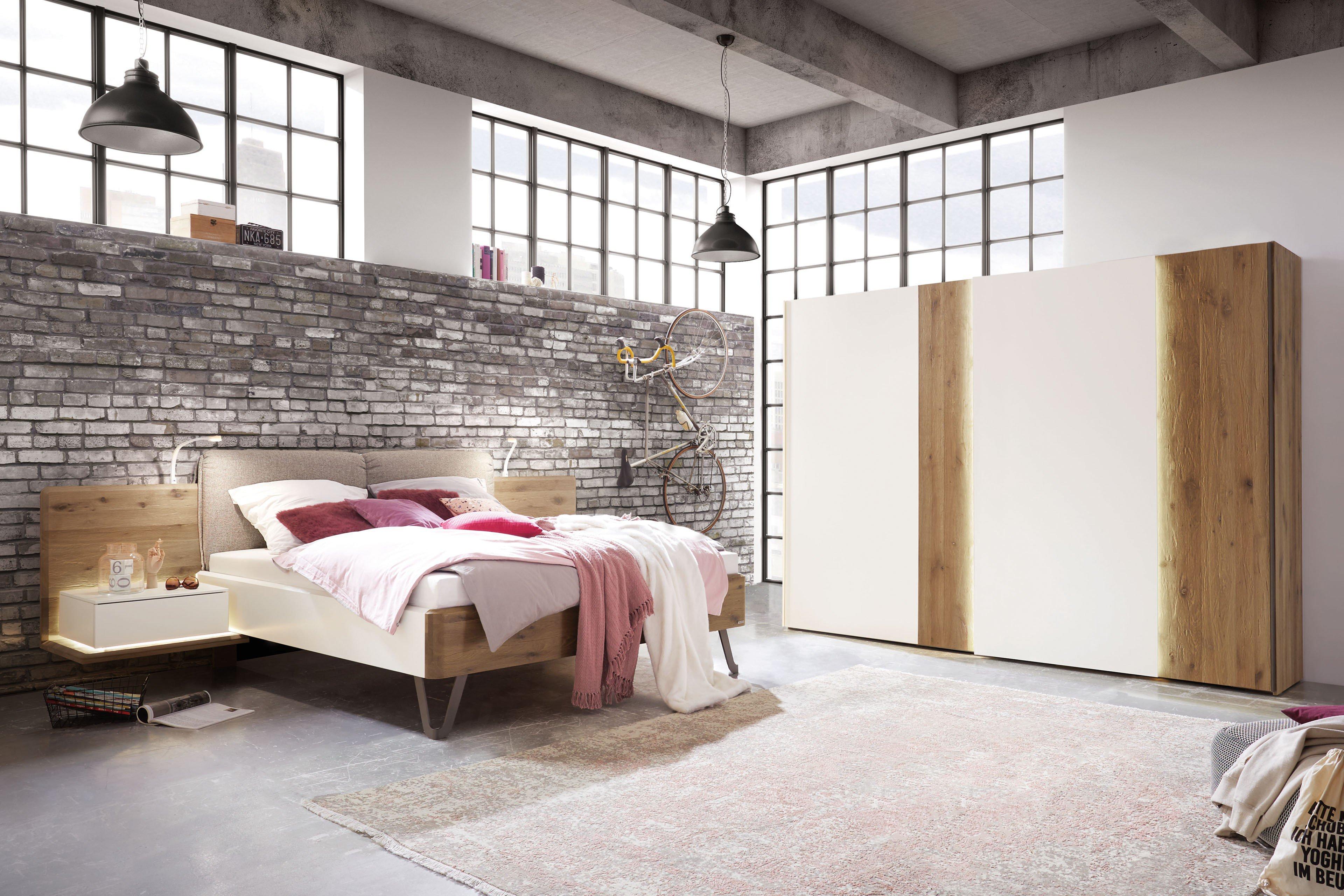 thielemeyer feel schlafzimmer wildeiche - lack weiß | möbel